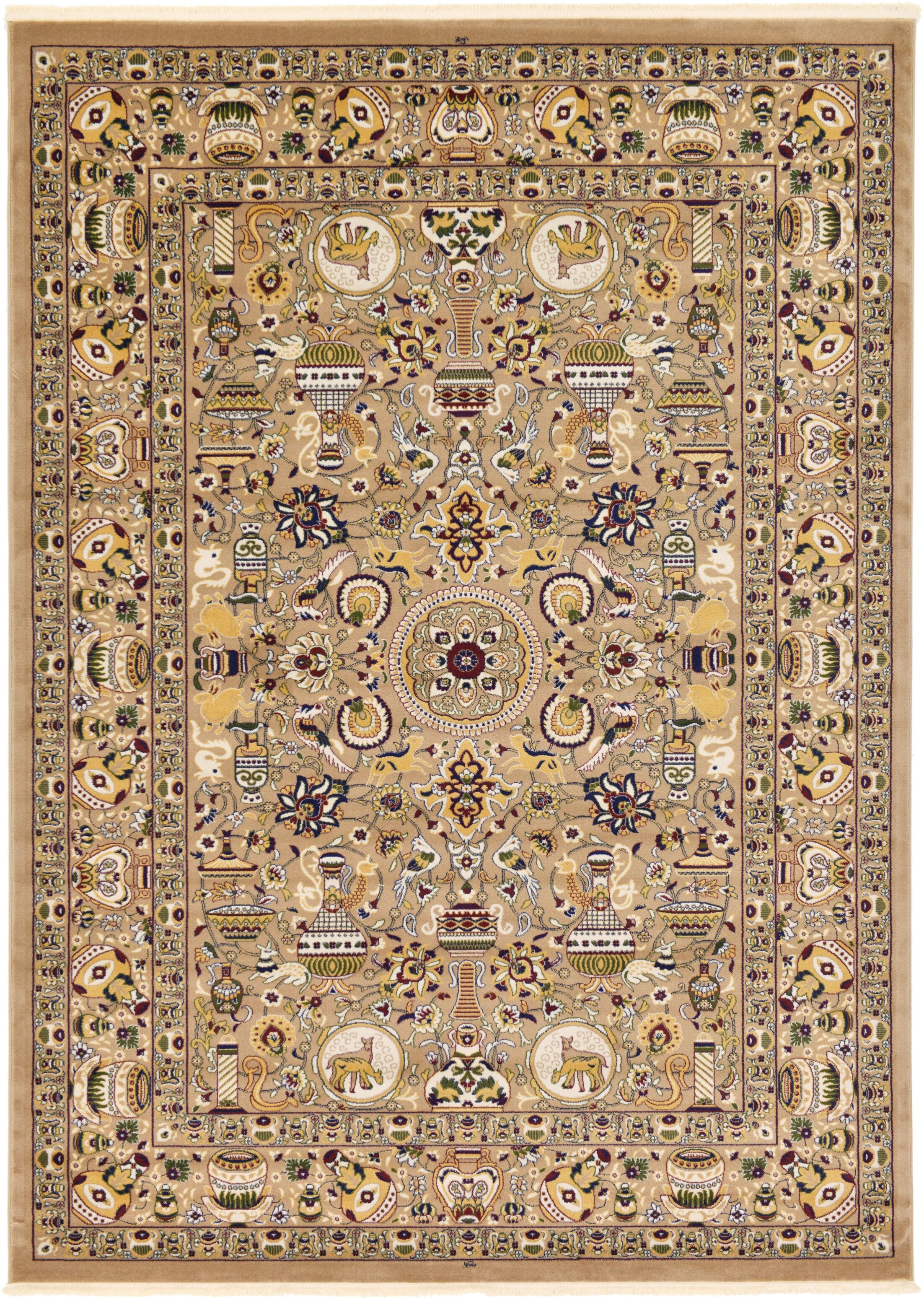 Altadena Light Brown Area Rug Rug Size: Rectangle 8'2