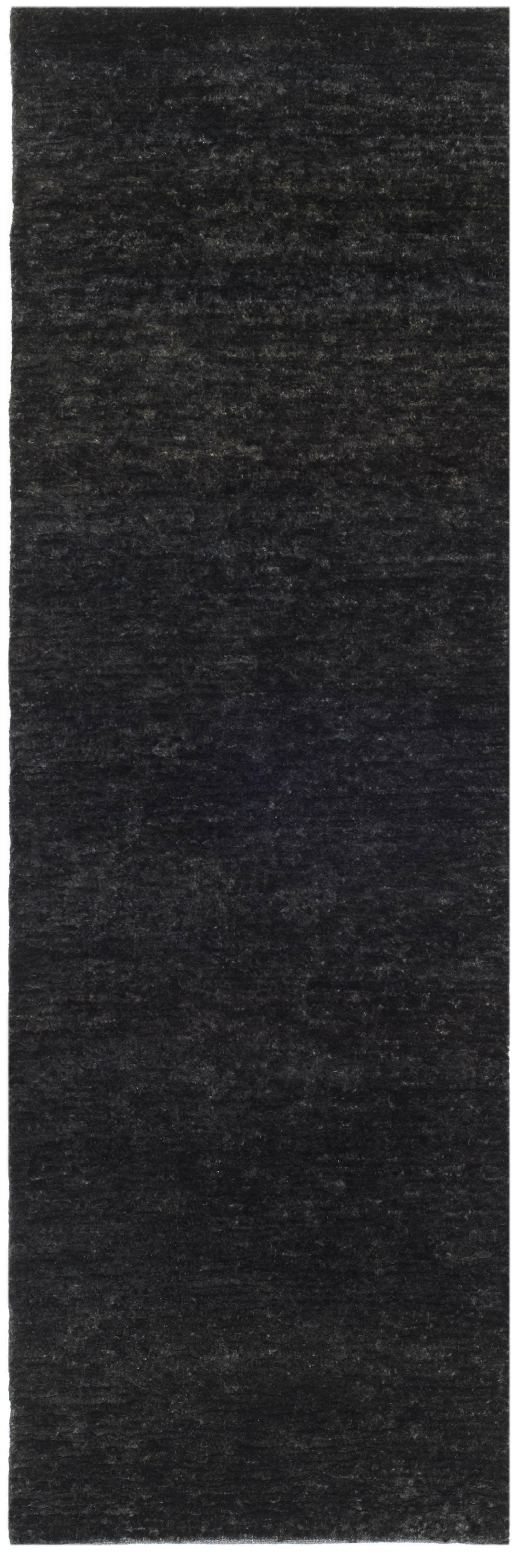 Parisi Black Area Rug Rug Size: Runner 2'6
