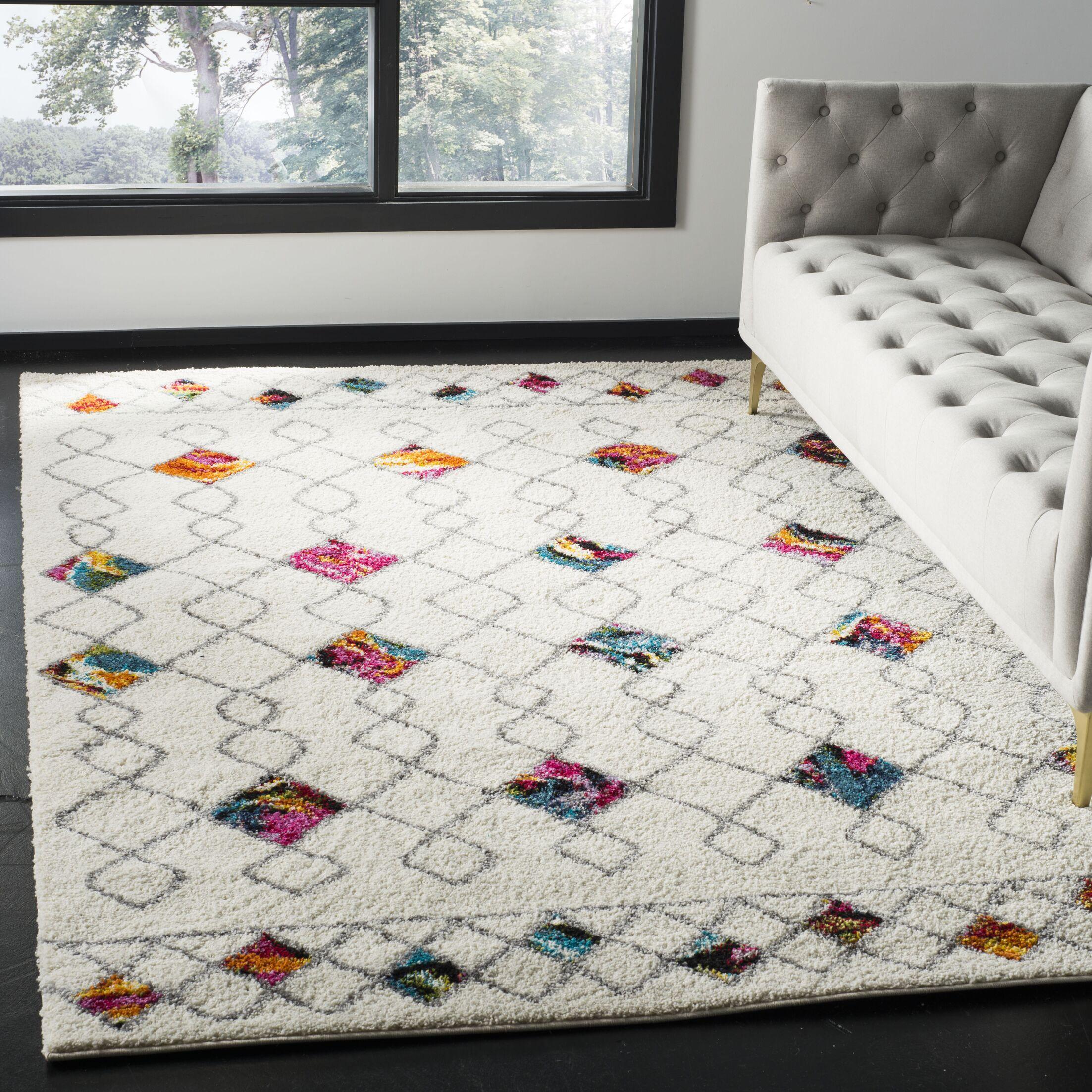 Breanna Shag Area Rug Rug Size: Rectangle 3' x 5'