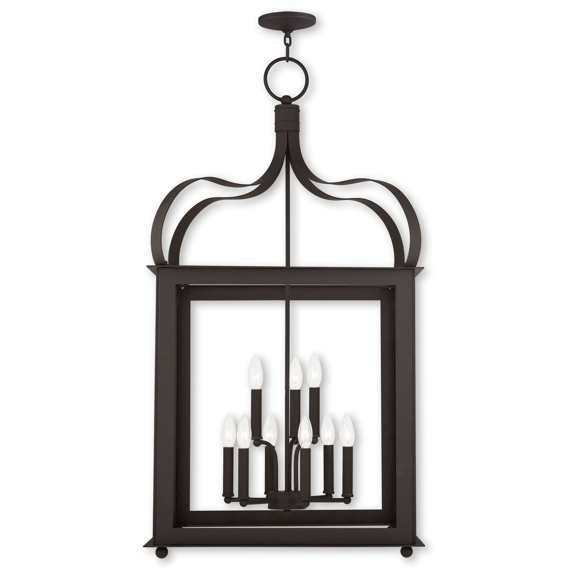 Robertson 9-Light Foyer Pendant Finish: Bronze