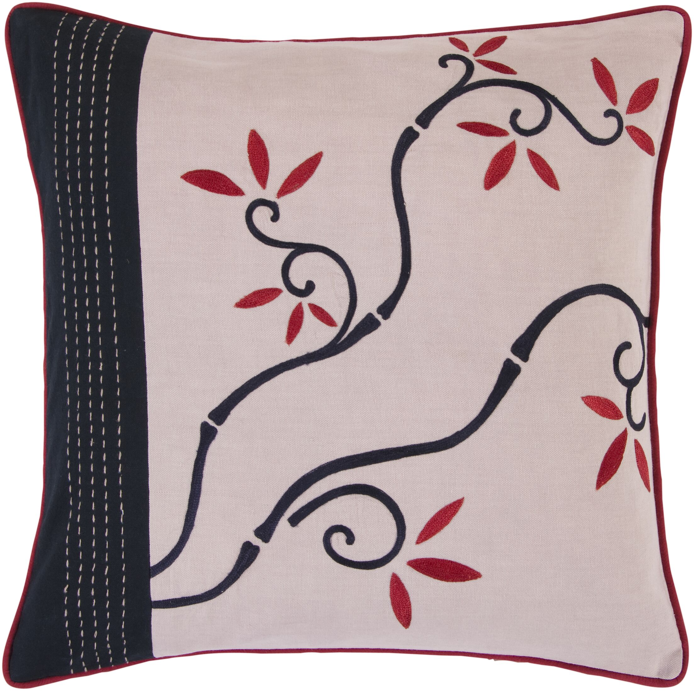 Crosby Vibrant Vine Pillow Filler: Down