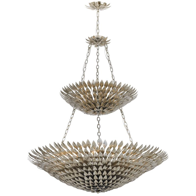 Rochelle 18-Light Bowl Pendant Finish: Antique Silver