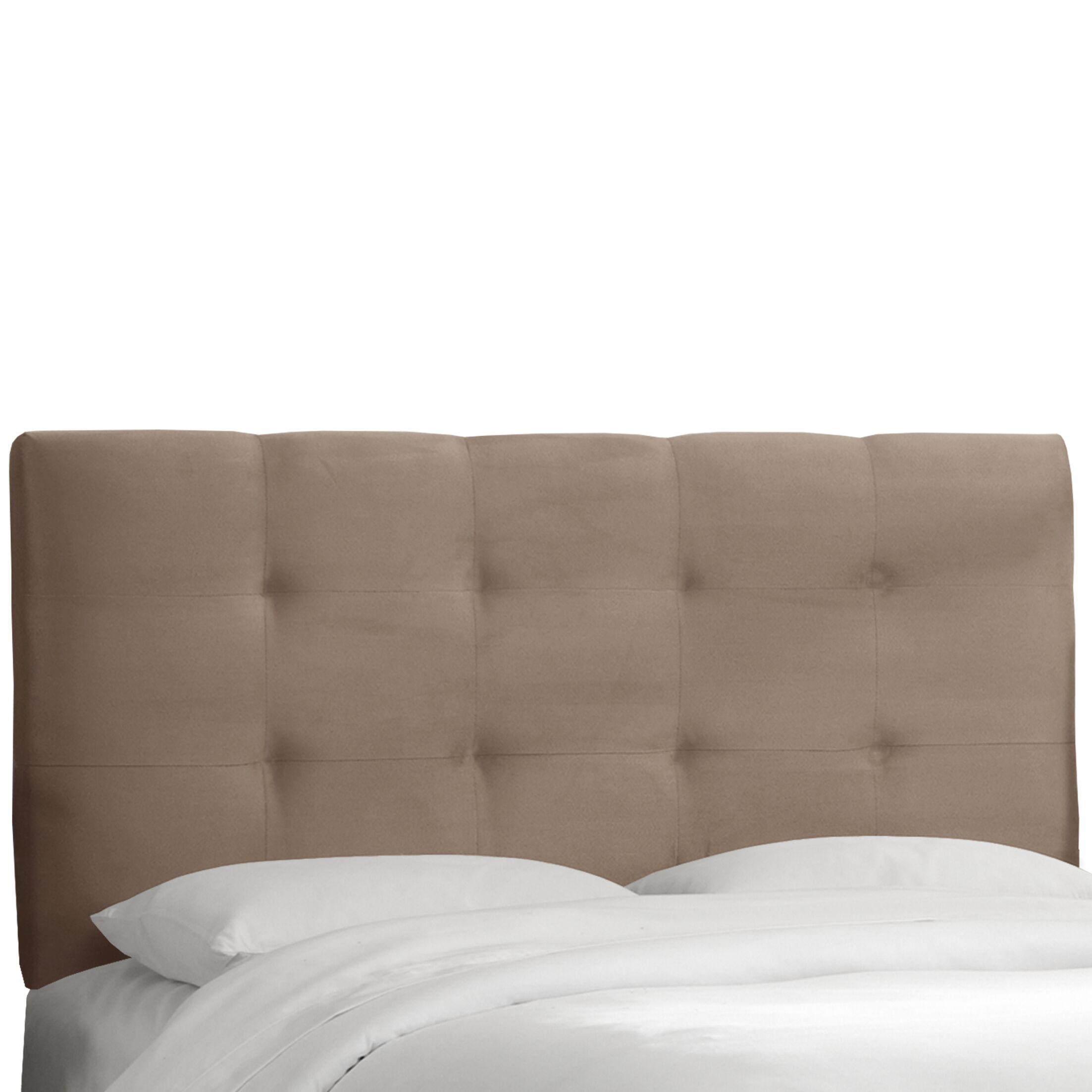 Evonne Upholstered Panel Headboard Size: Full, Upholstery: Mystere Mondo