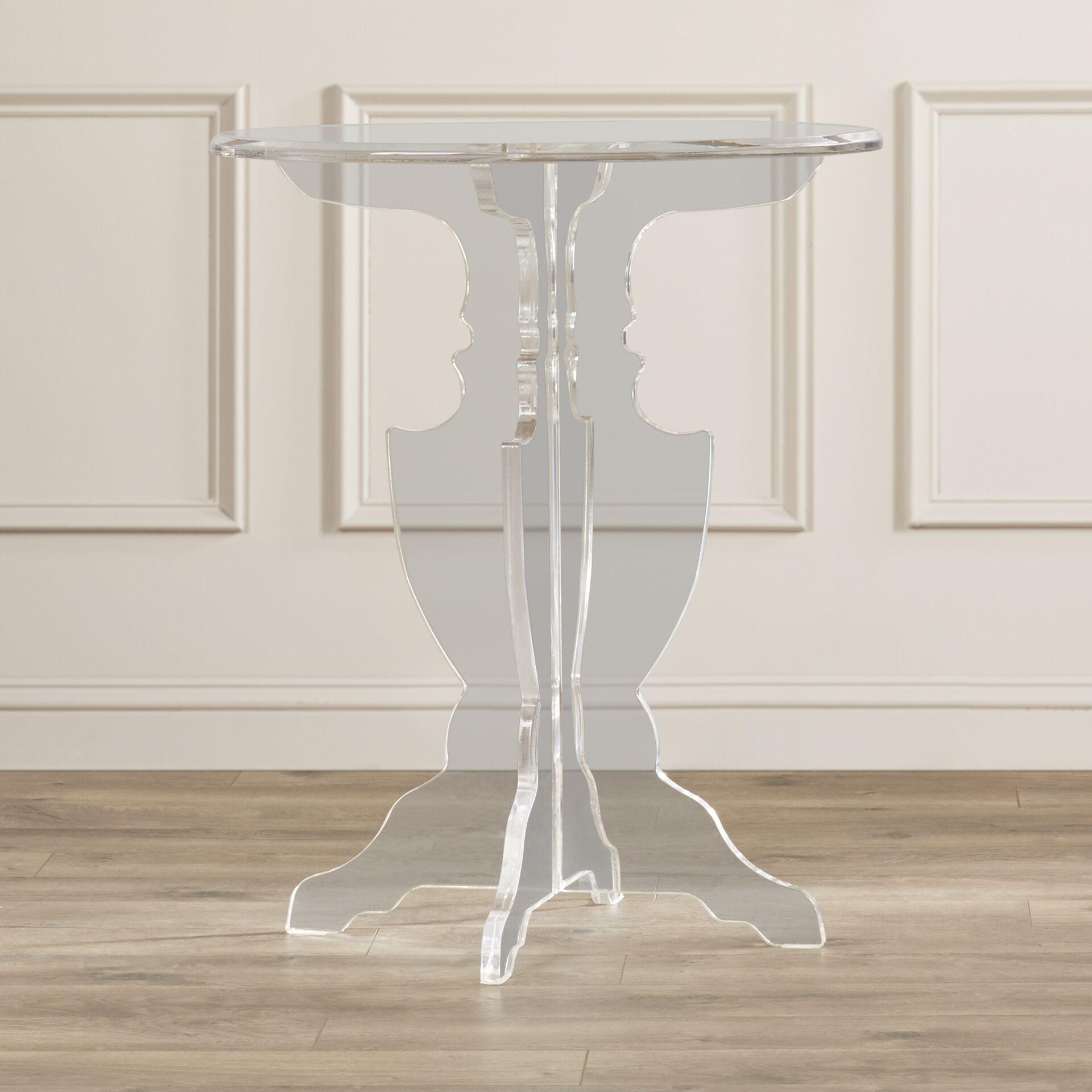 Genevra Acrylic End Table