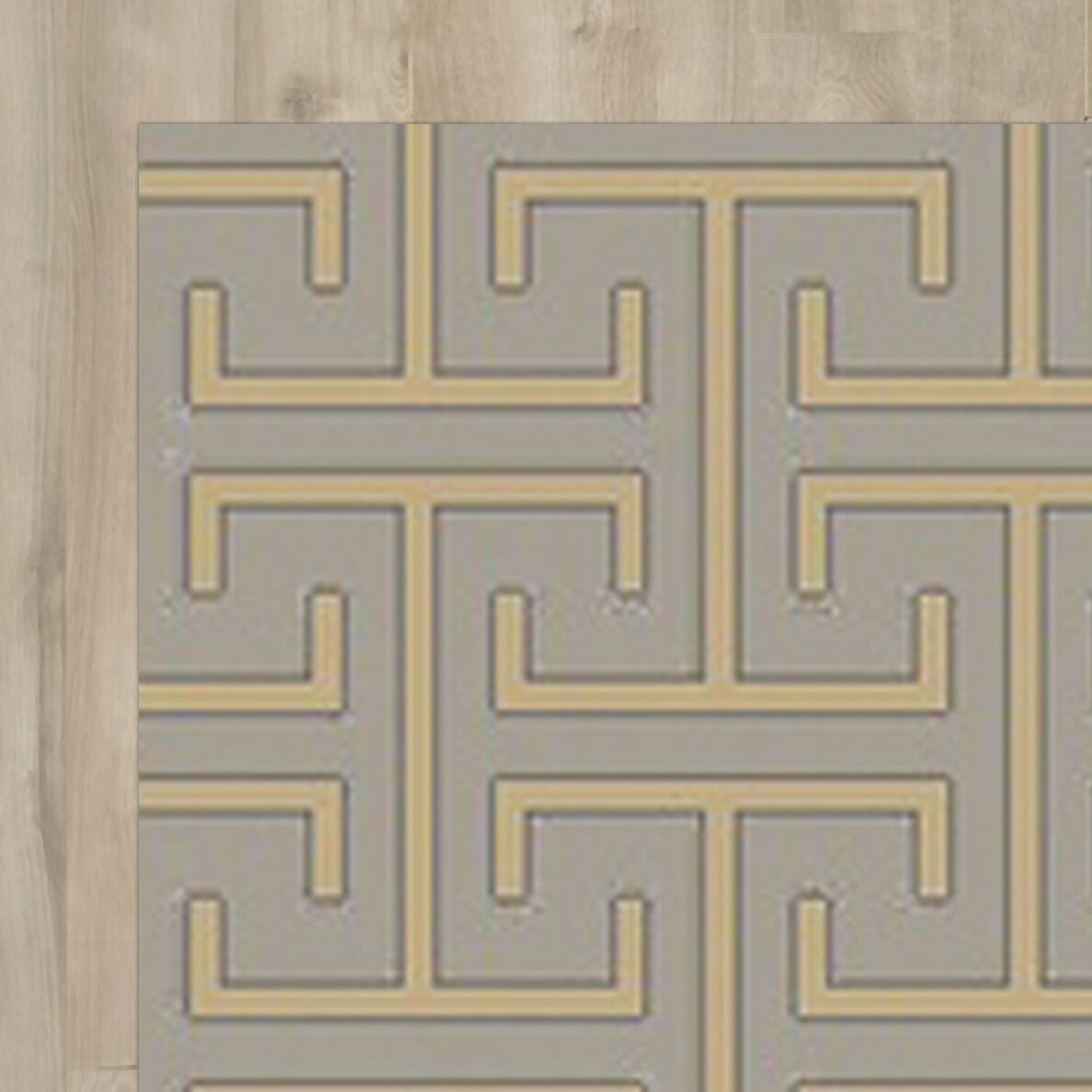 Amita Hand-Knotted Gray Area Rug Rug Size: Rectangle 3'3
