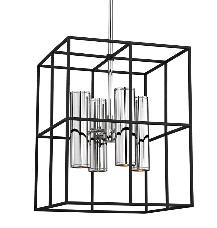 Veronica 8-Light Square/Rectangle Chandelier Finish: Polished Nickel