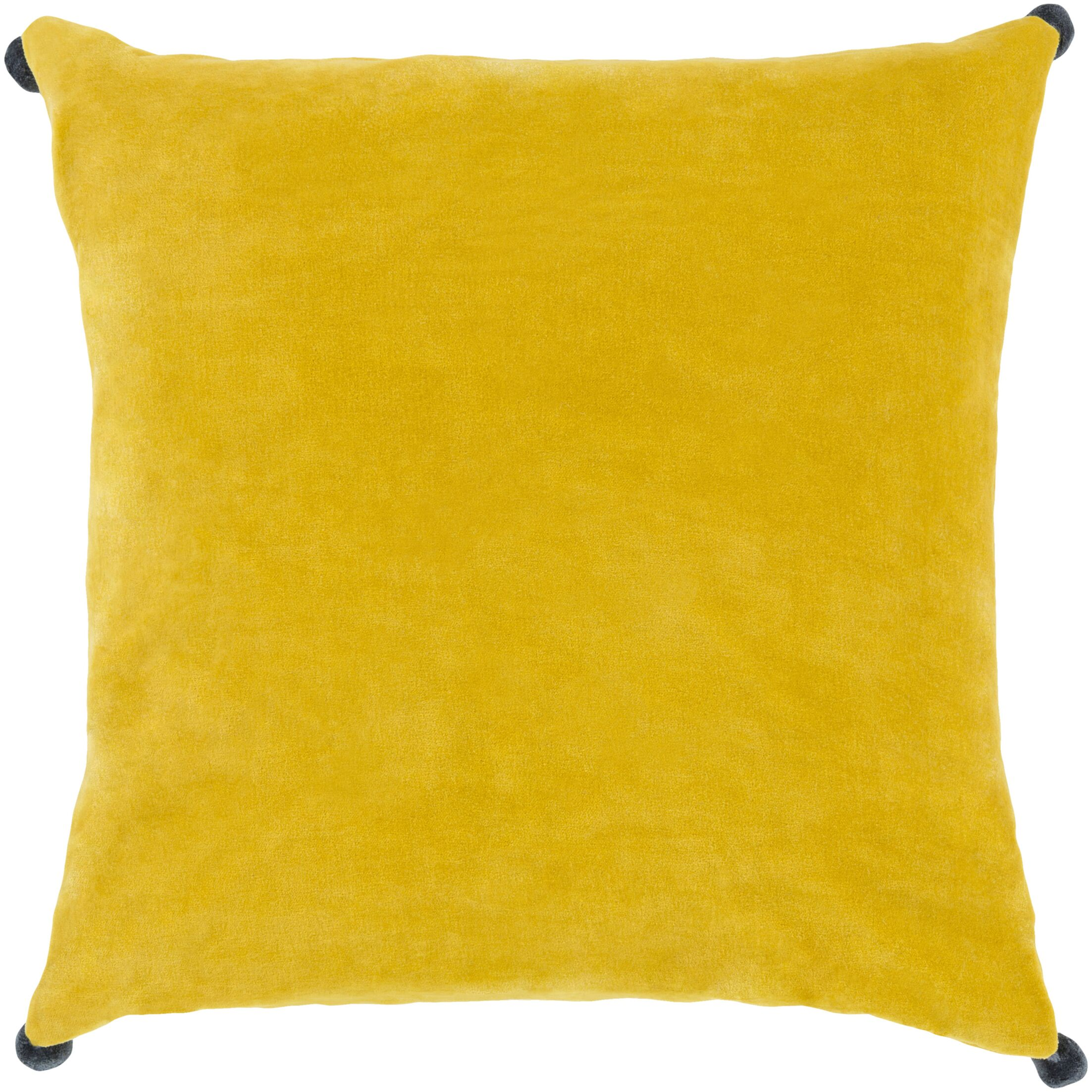 Yvonne Poms Velvet Throw Pillow Cover Size: 22
