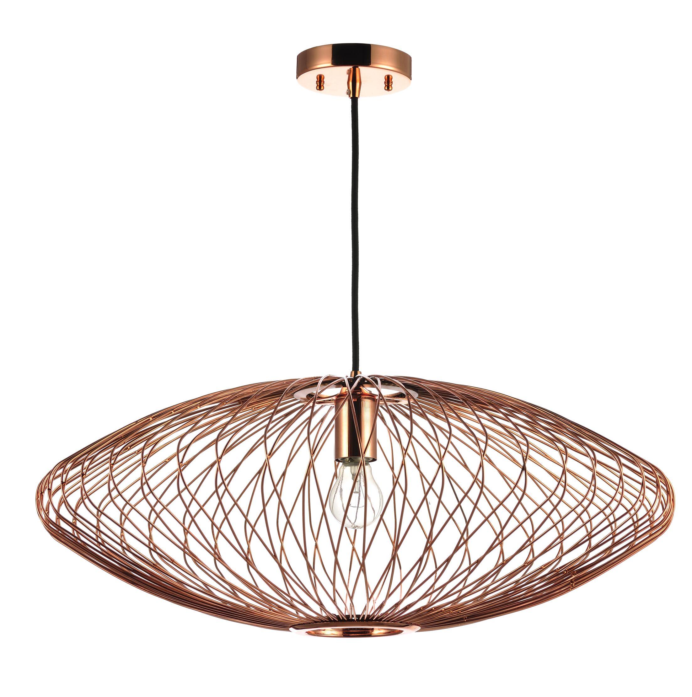 Rumfelt 1-Light Mini Pendant Lamp Color: Copper