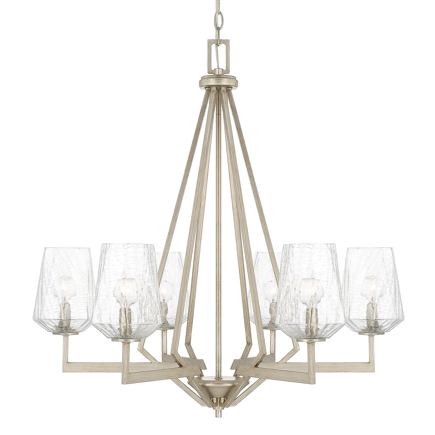 Whetsel 6-Light Shaded Chandelier