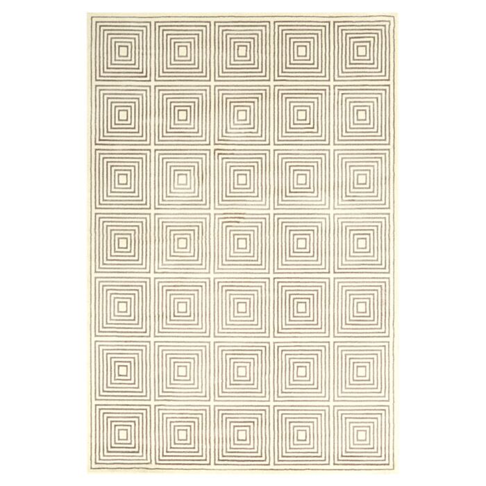 Bosse Cream Area Rug Rug Size: Runner 2'1 x 7'1
