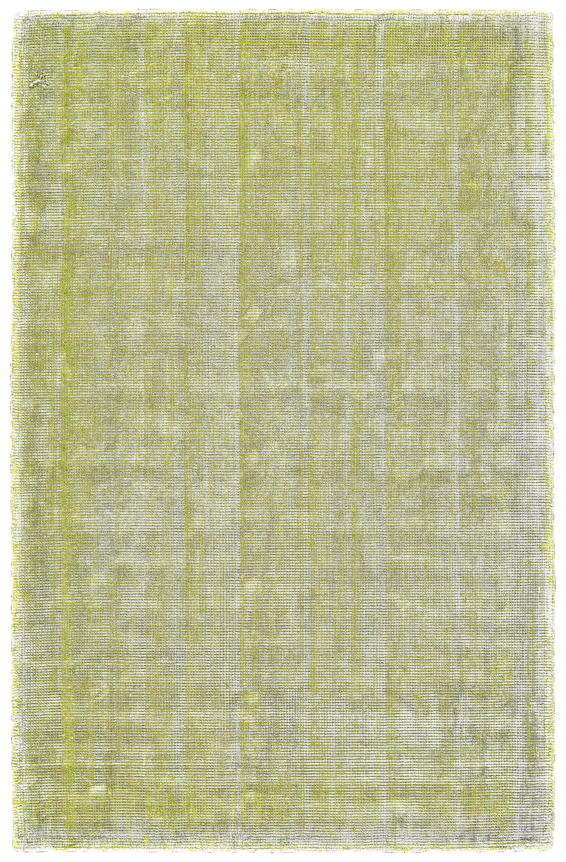 Kingston Hand Woven Cotton Lime/White Area Rug Rug Size: Rectangle 8' x 11'