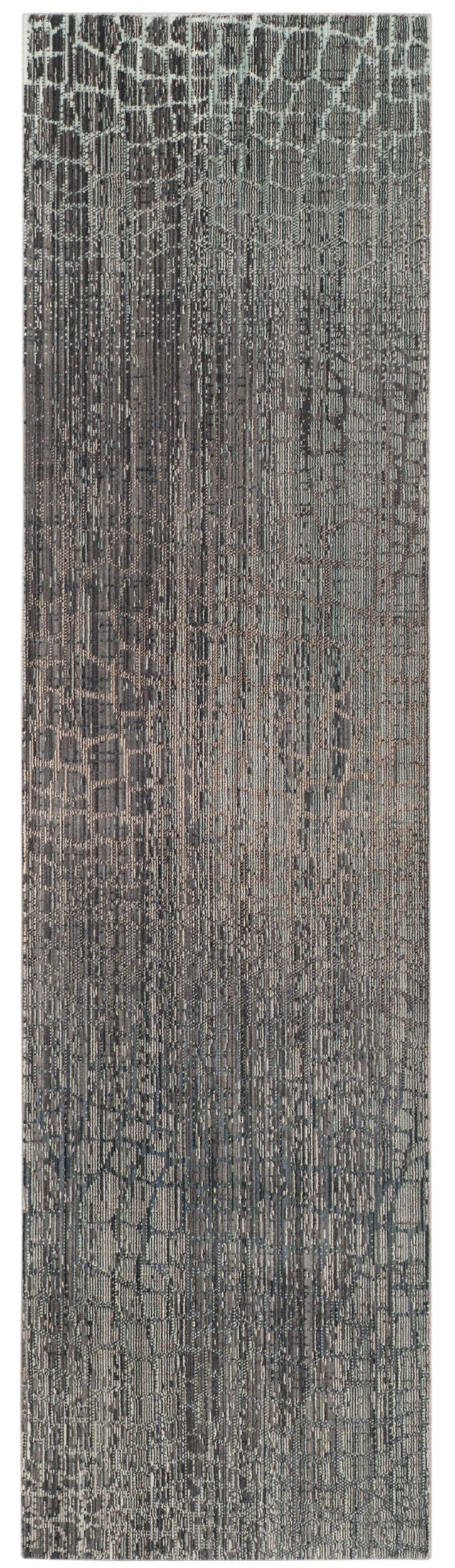Boathaven Gray Area Rug Rug Size: Runner 2'3