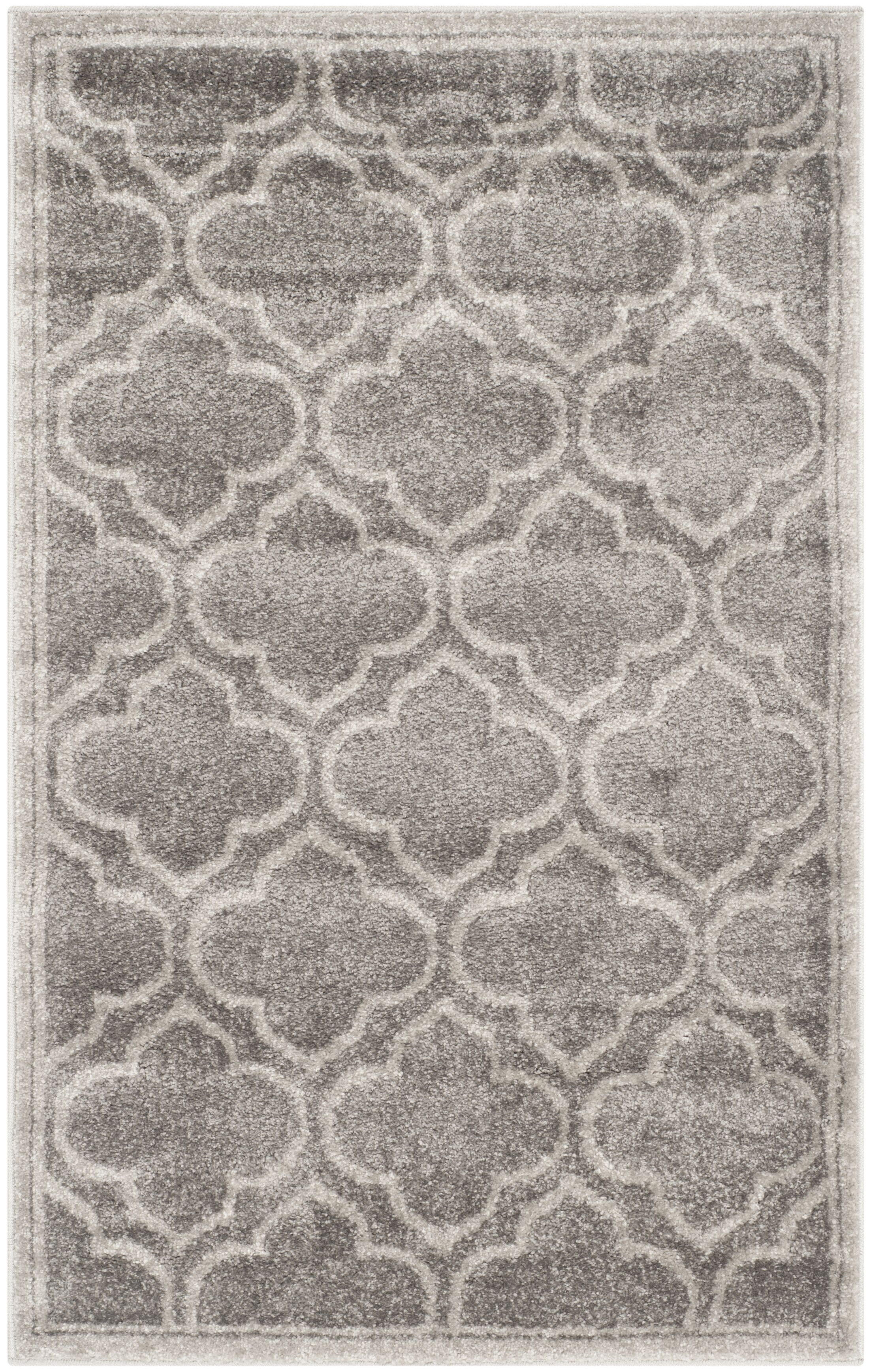 Maritza Gray Outdoor Area Rug Rug Size: Rectangle 6' x 9'