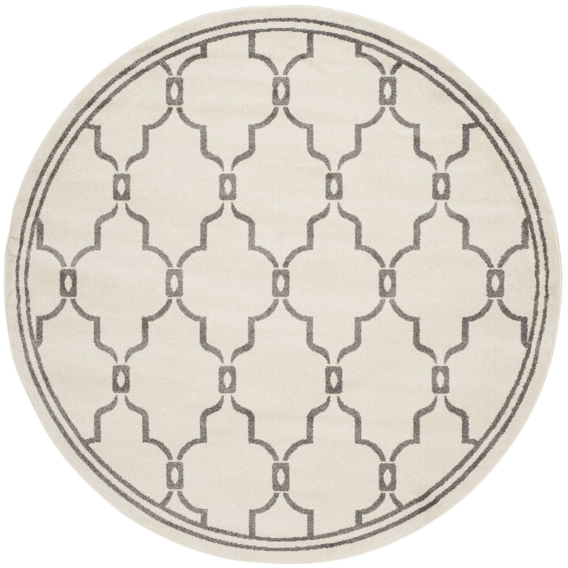 Wason Ivory/Grey Outdoor Area Rug Rug Size: Rectangle 4' x 6'