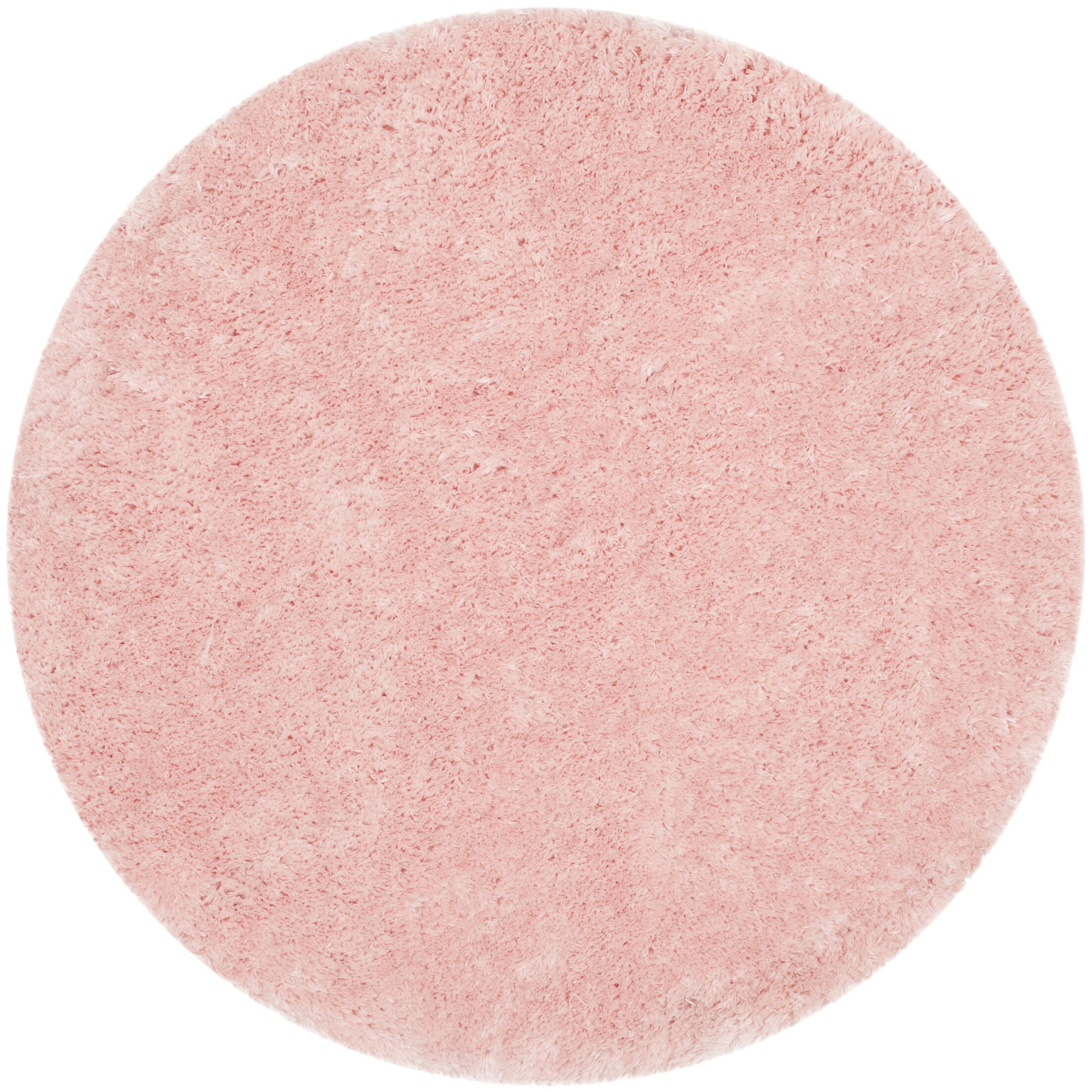 Dax Shag Hand-Tufted Pink Area Rug Rug Size: Rectangle 5' x 7'