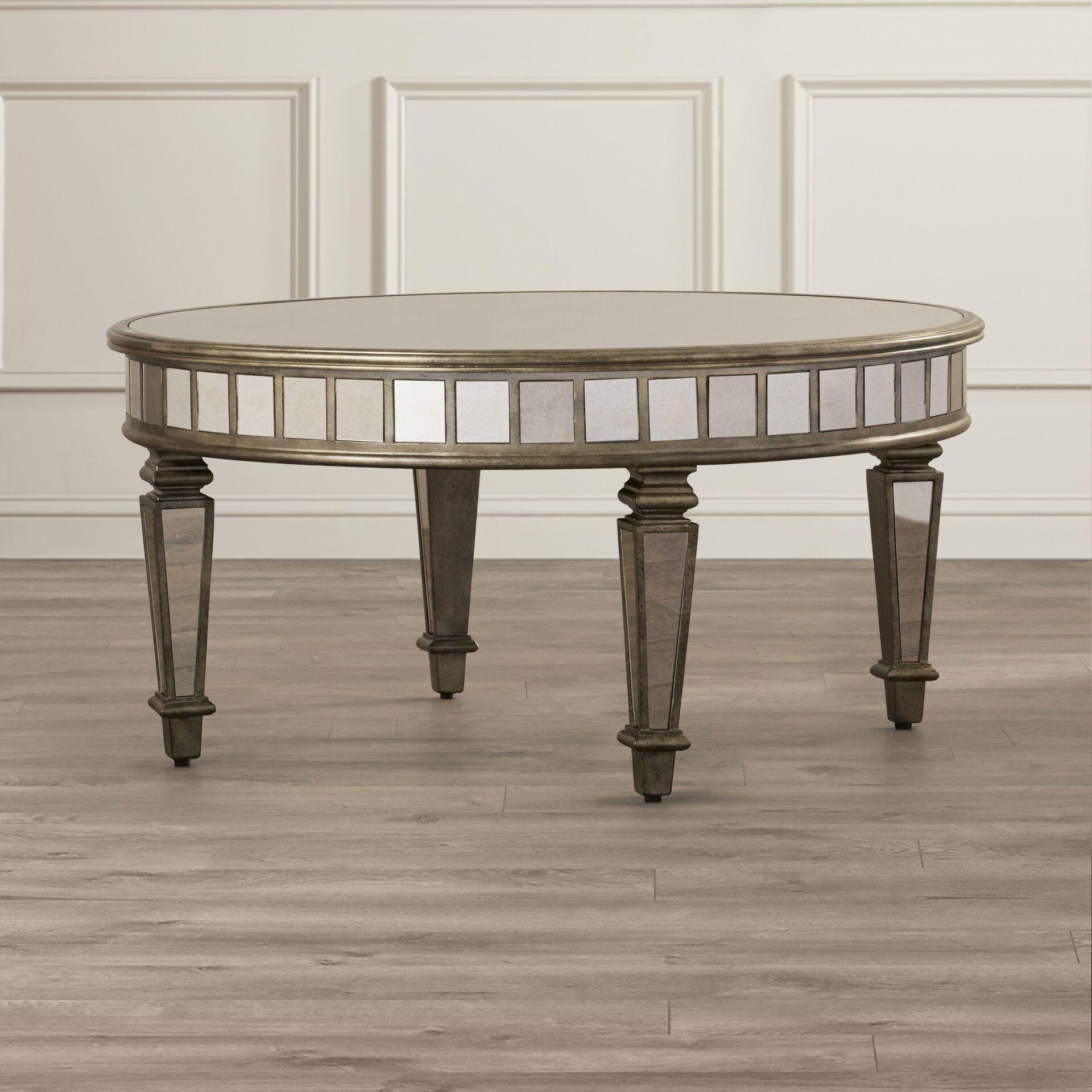 Gestel Mirrored Coffee Table