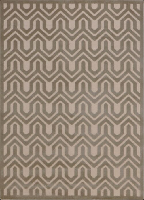 Beaconsfield Ivory/Light Gray Area Rug Rug Size: Rectangle 3'6