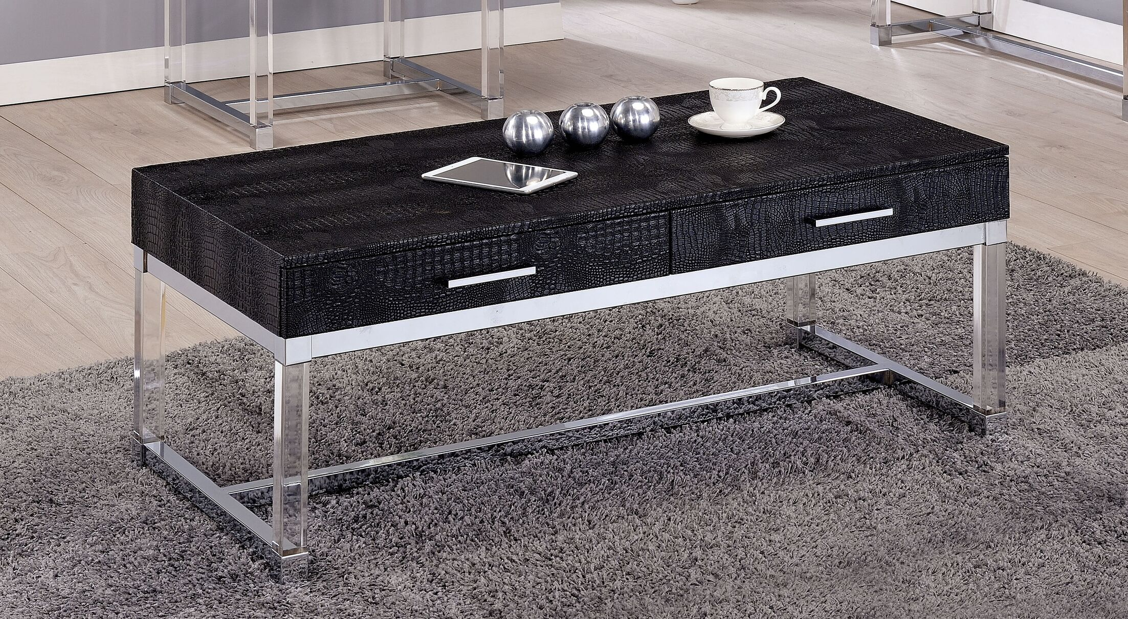 Maxwell Coffee Table Color: Black