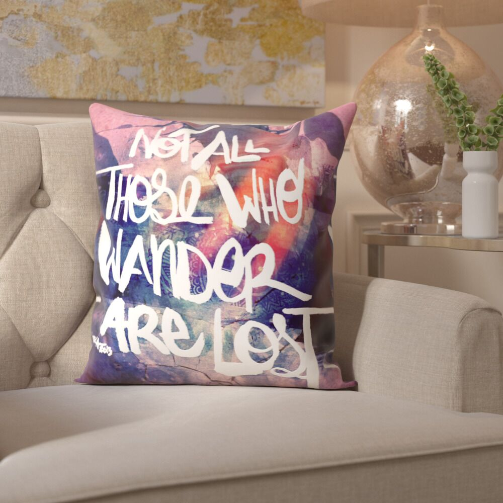 Pudsey Lost Throw Pillow