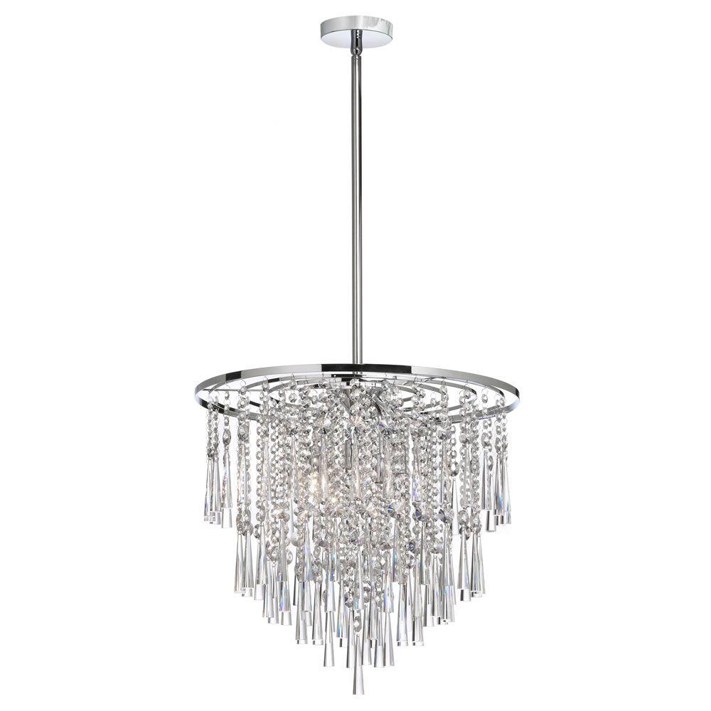 Deverel 8-Light Crystal Chandelier