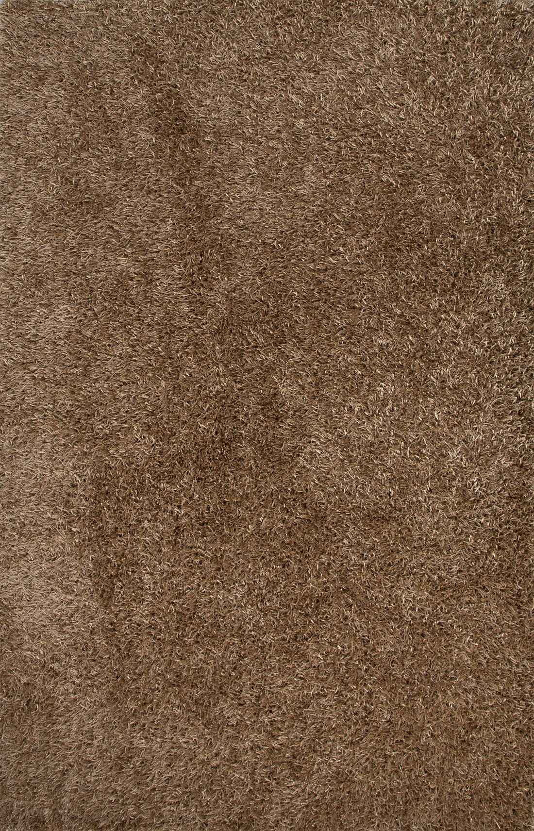 Woodside Taupe/Tan Solid Area Rug Rug Size: 3'6