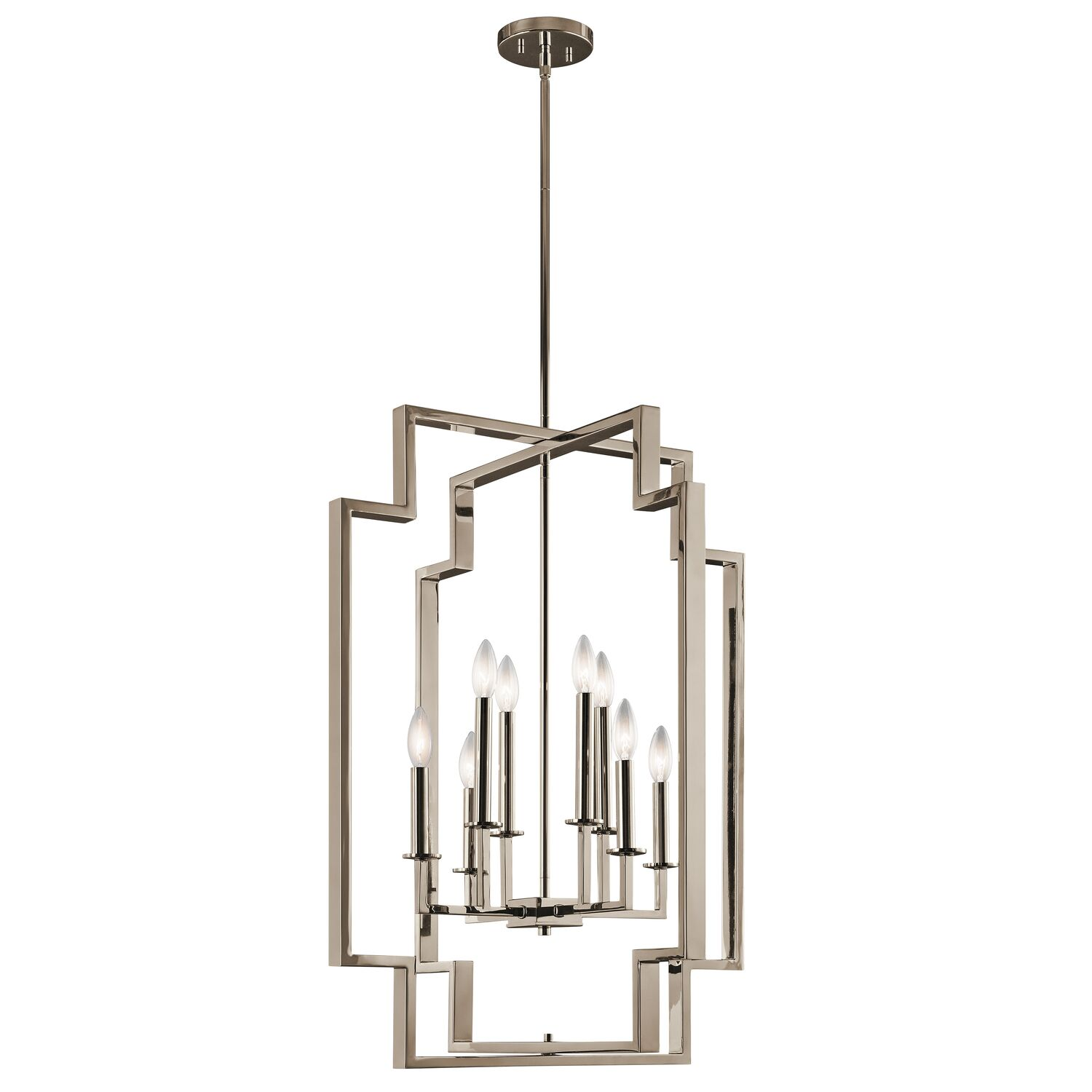 Goffe 8-Light Geometric Chandelier