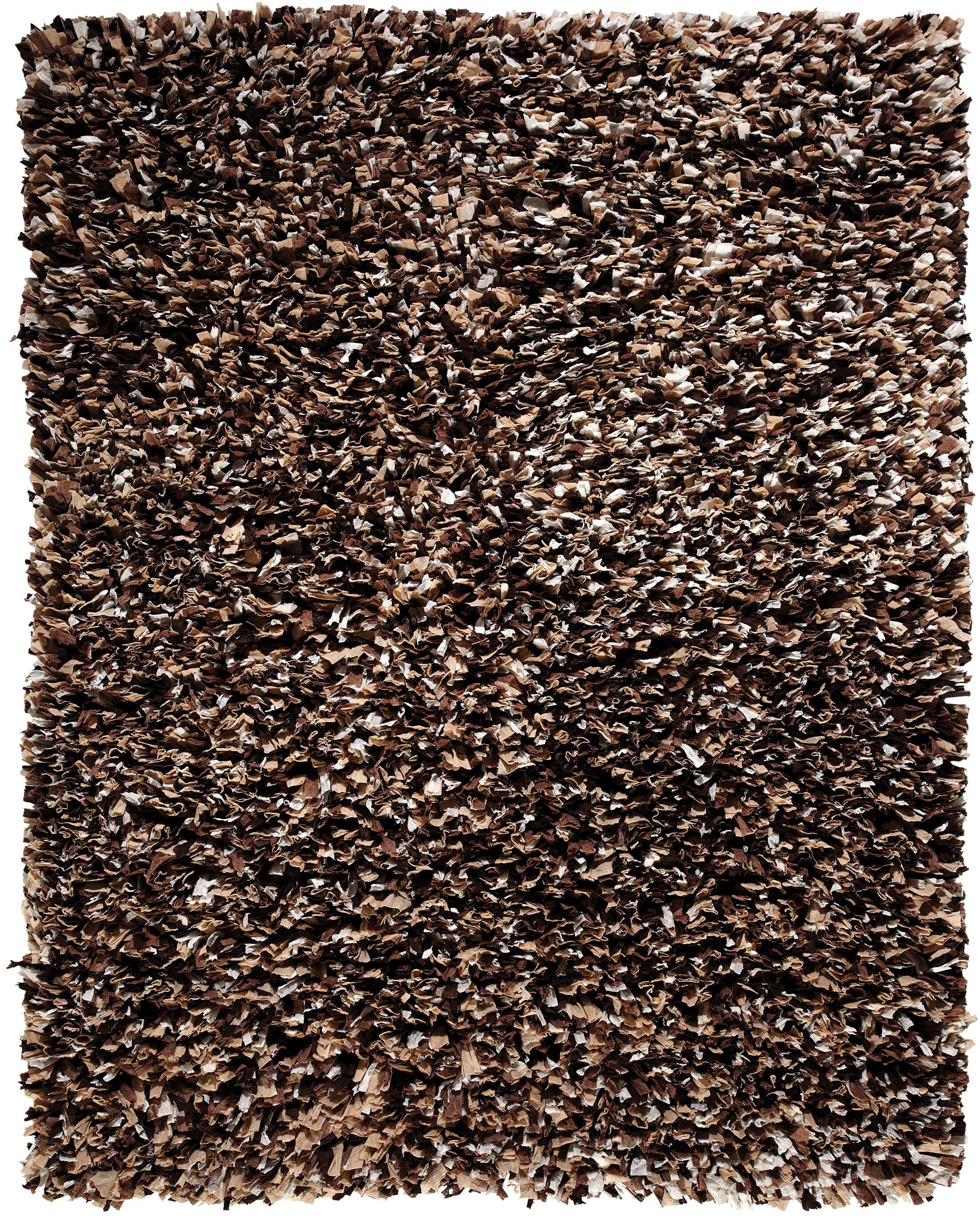 Reger Hand-Woven Shag Area Rug Rug Size: 8' x 10'