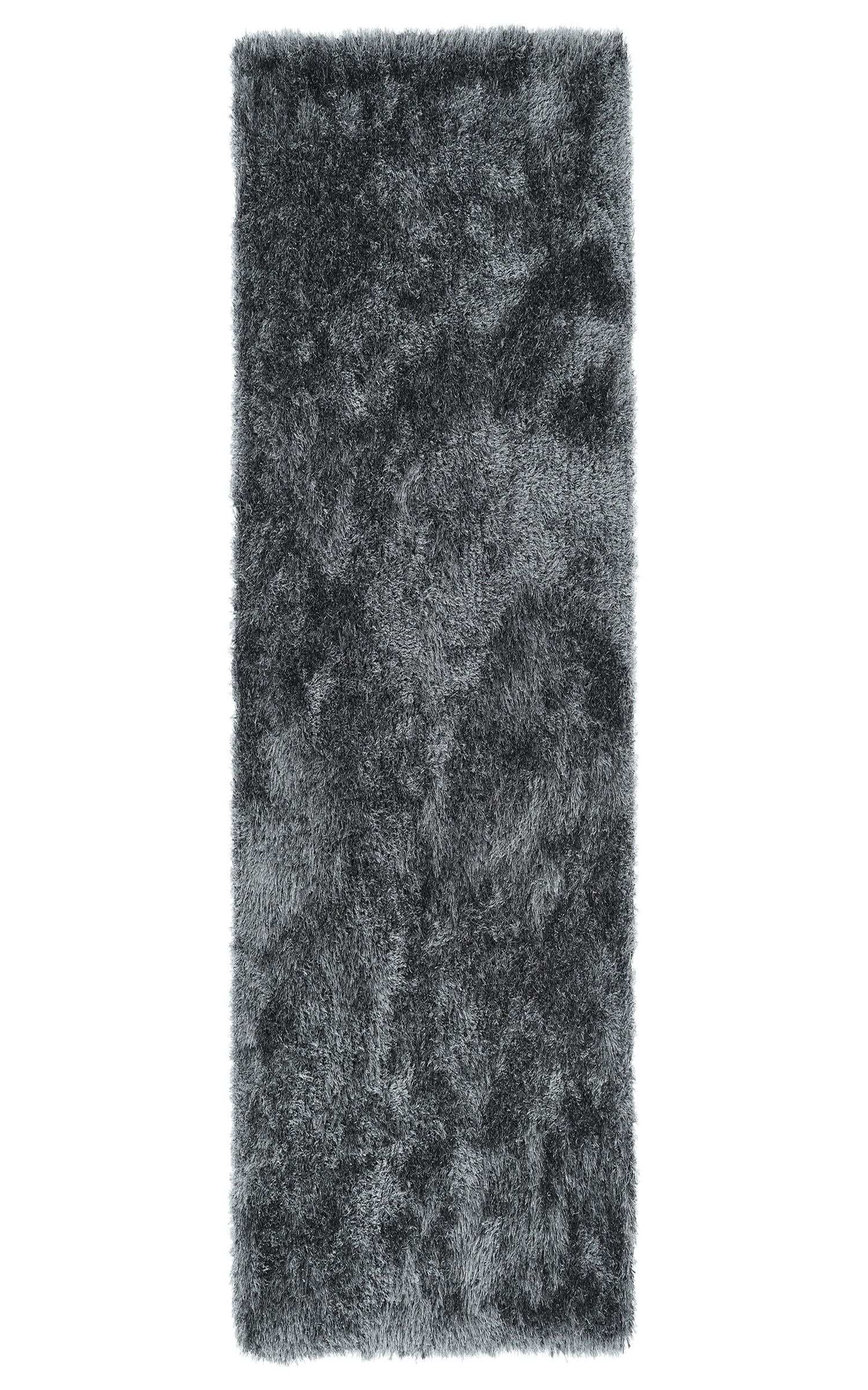 Caine Grey Area Rug Rug Size: Runner 2'3