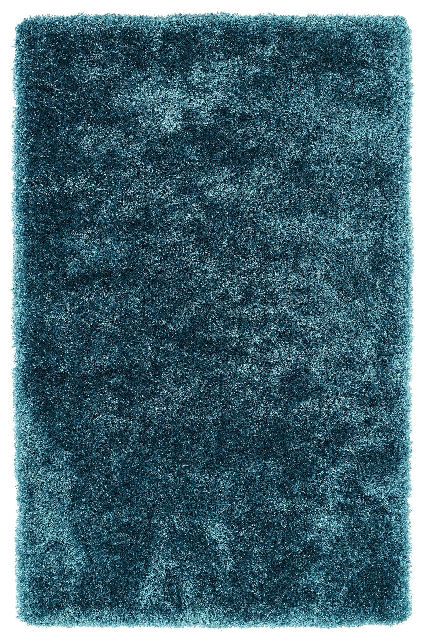Caine Teal Area Rug Rug Size: Rectangle 3' x 5'