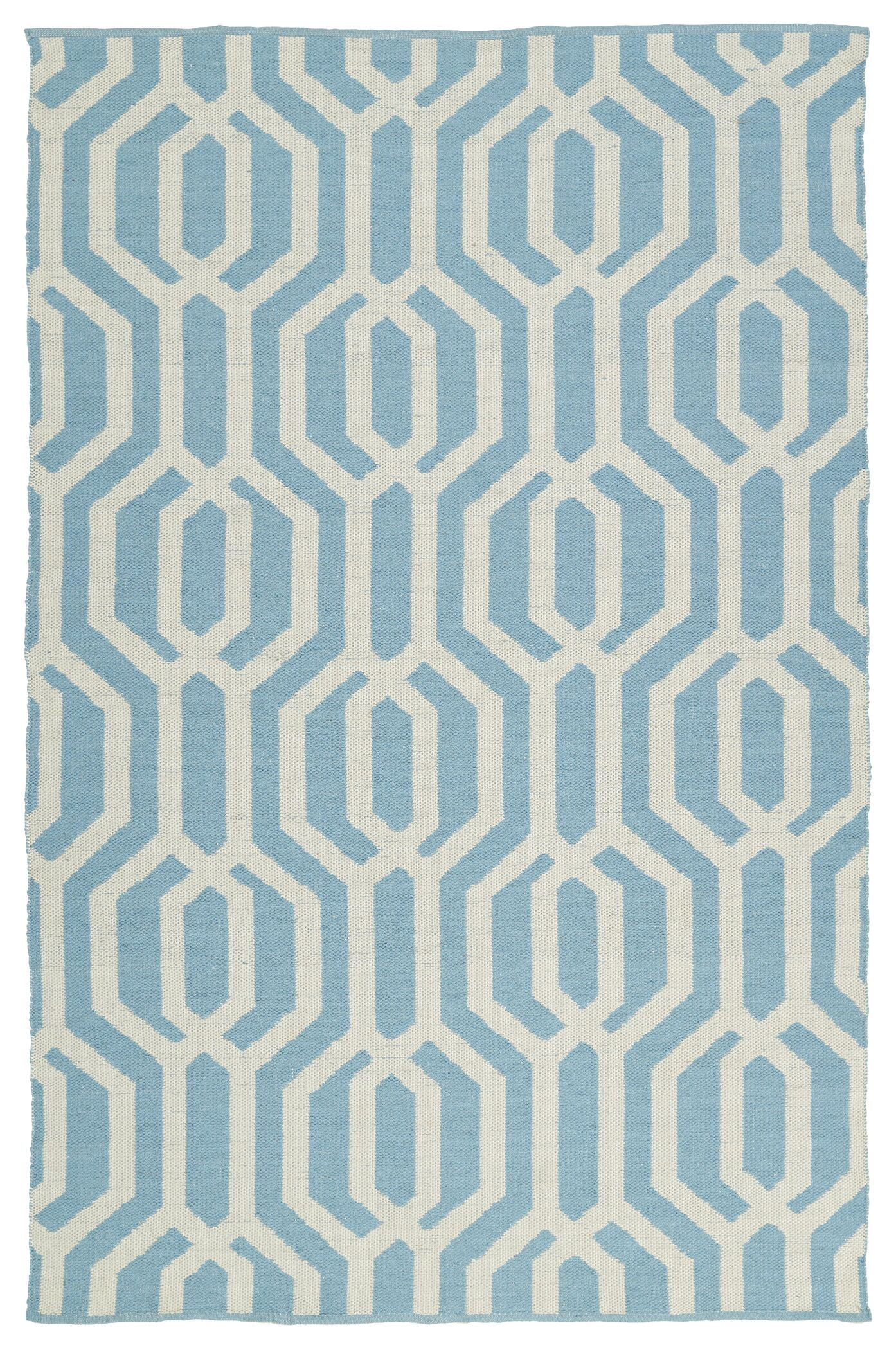Camillei Spa/Cream Indoor/Outdoor Area Rug Rug Size: Rectangle 3' x 5'