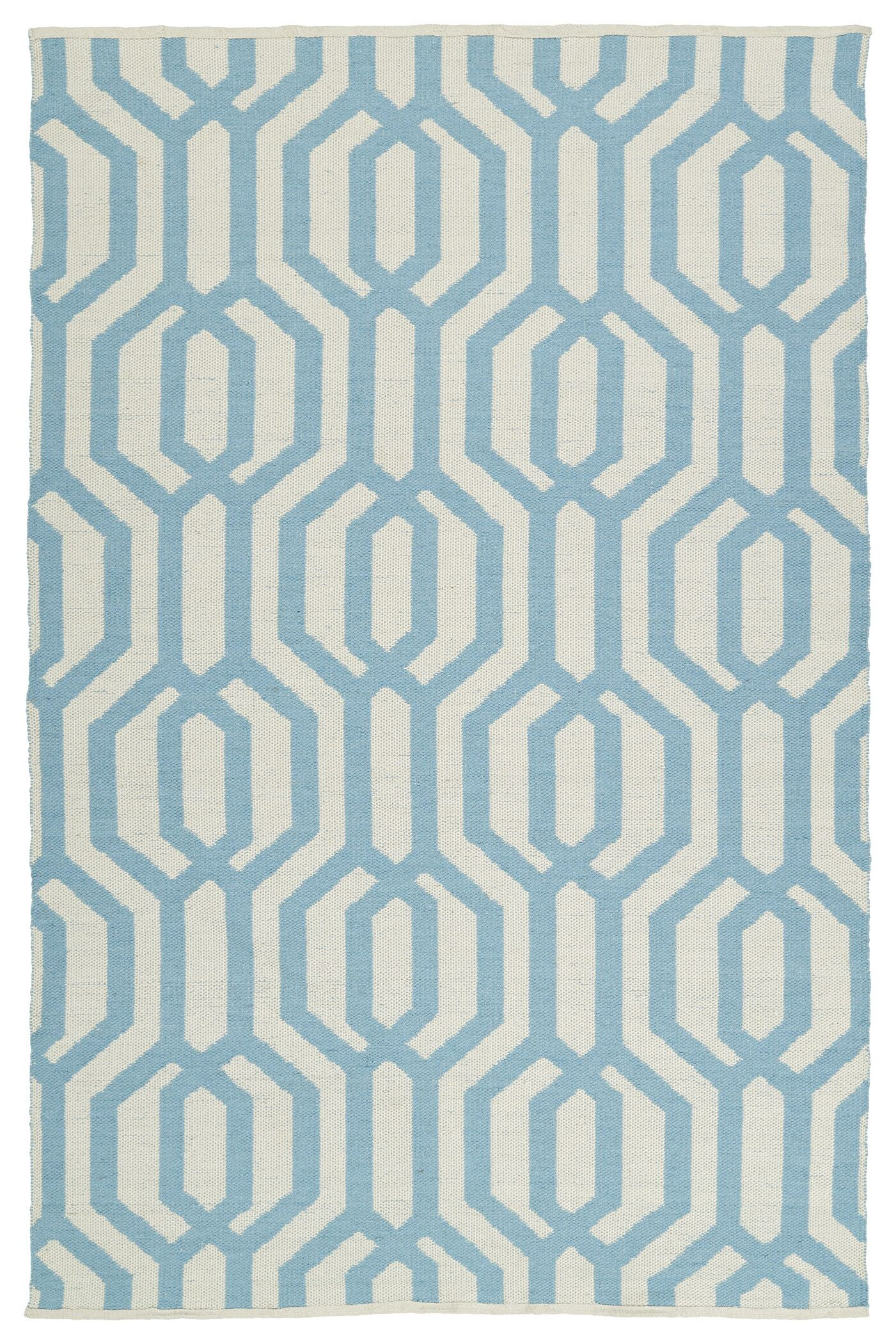 Camillei Cream/Spa Indoor/Outdoor Area Rug Rug Size: Rectangle 3' x 5'