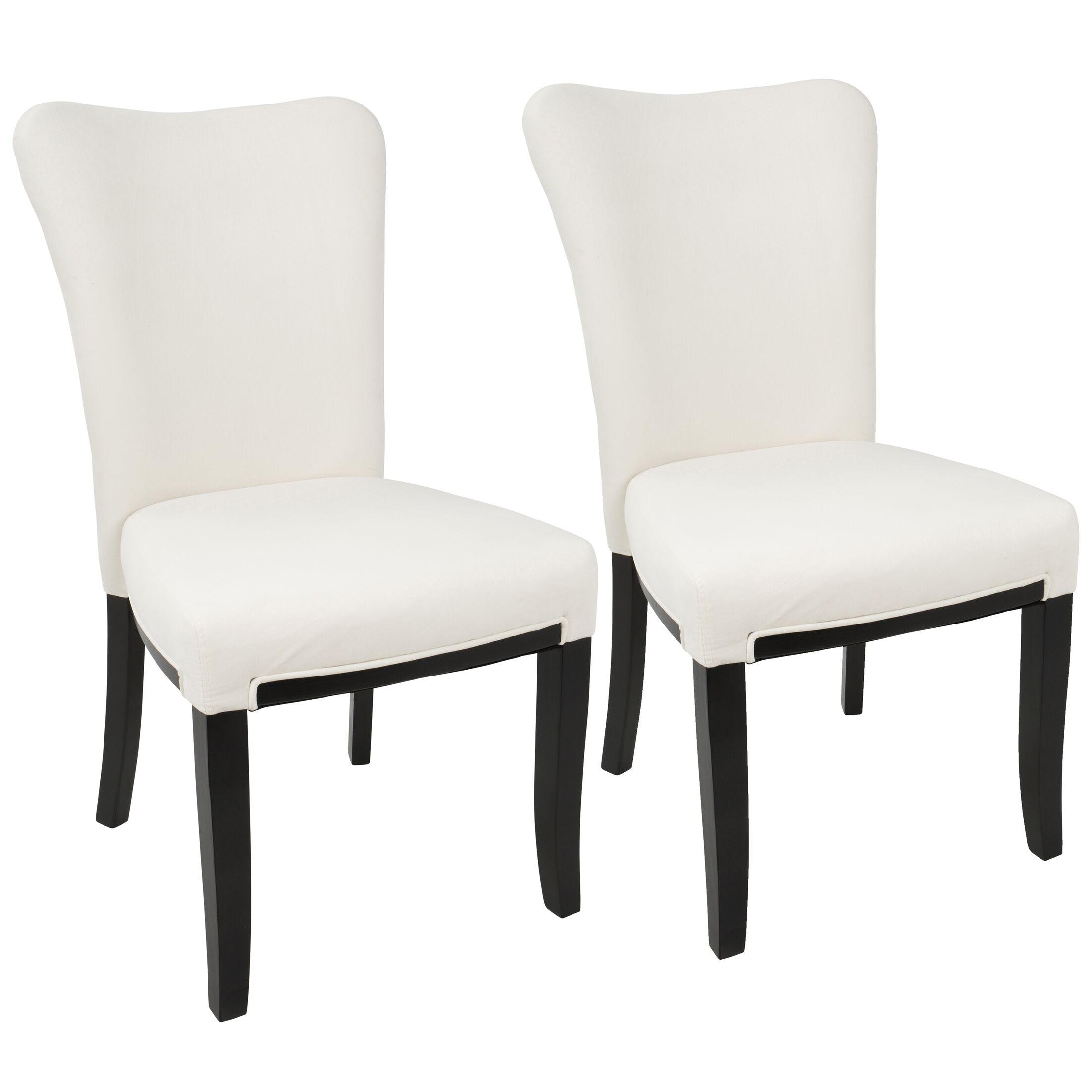 Neville Side Chair Upholstery: Cream