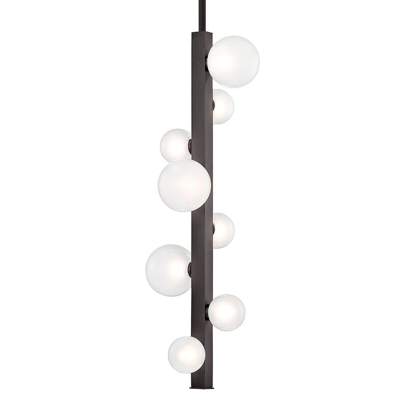 Diannah 8-Light LED Sputnik Chandelier Finish: Old Bronze
