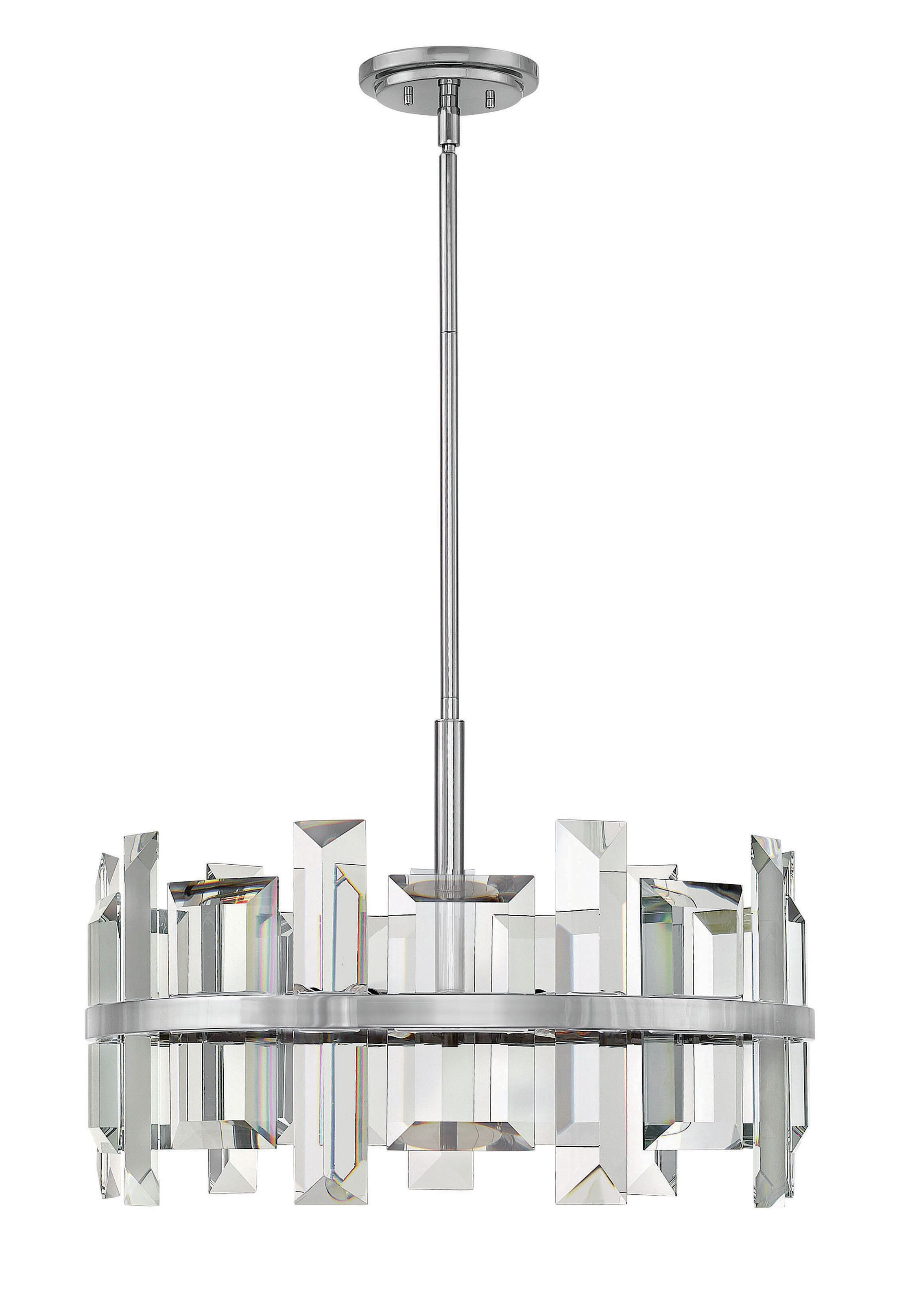 Odette 6 Light Pendant Finish: Polished Nickel