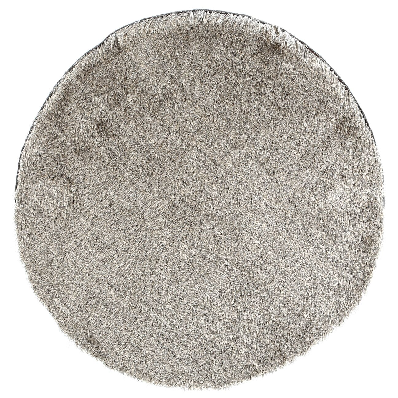 Montpelier Sable/Taupe Area Rug Rug Size: Round 7'