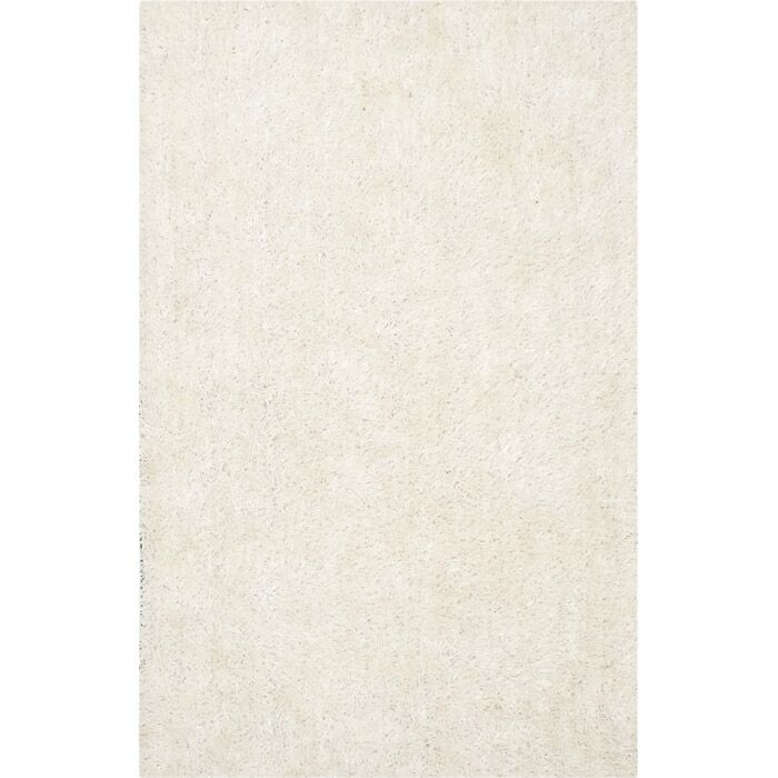 Maya Hand-Tufted/Hand-Hooked Off White Area Rug Rug Size: Square 7'