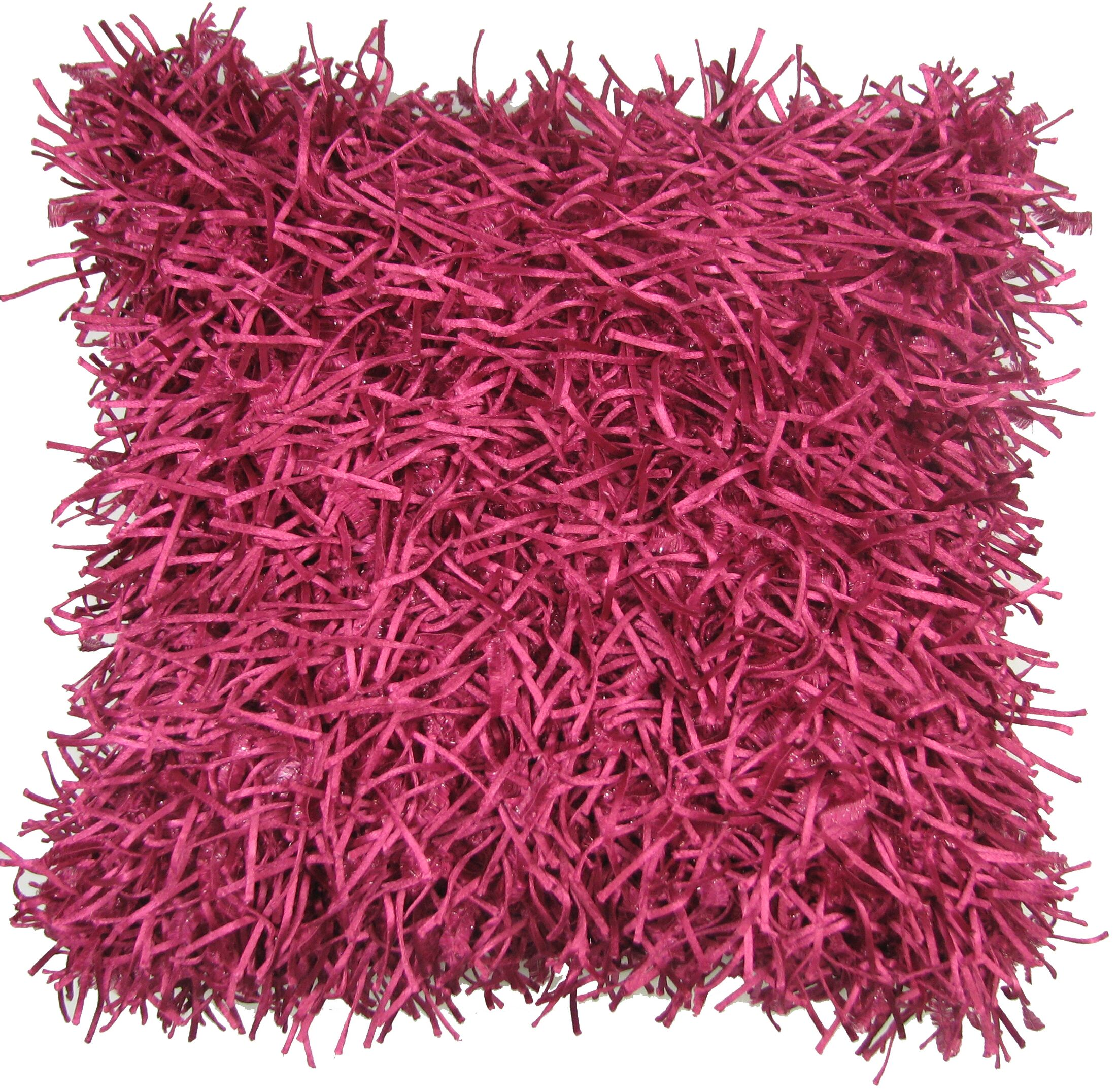 Leonard Throw Pillow Color: Fuchsia