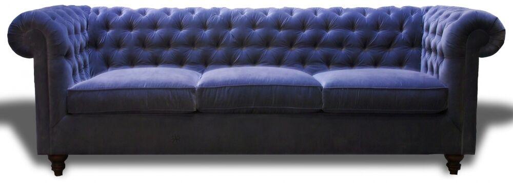Eduarda Chesterfield Sofa Body Fabric: Lena Slate
