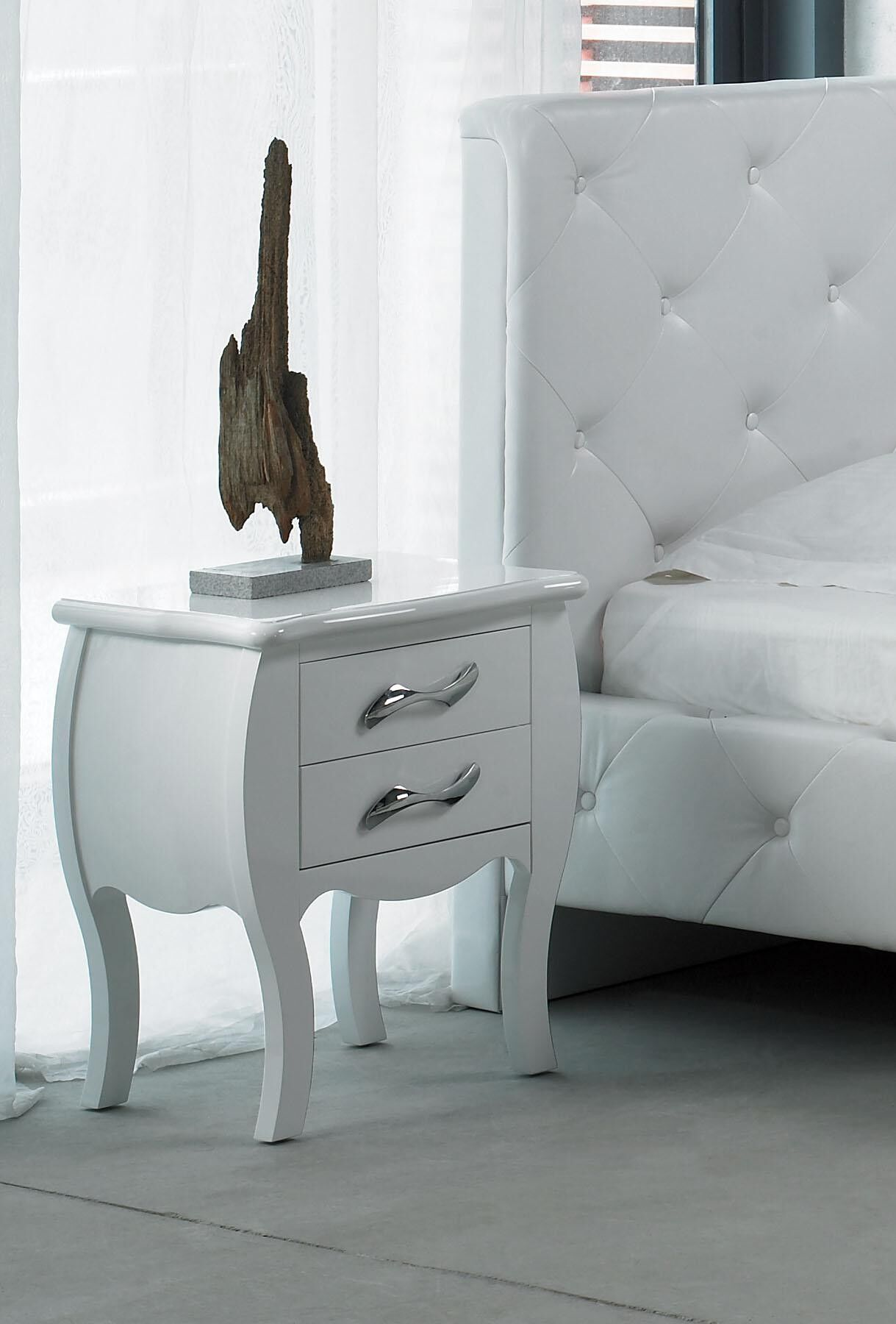 Beckett 2 Drawer Nightstand Color: White