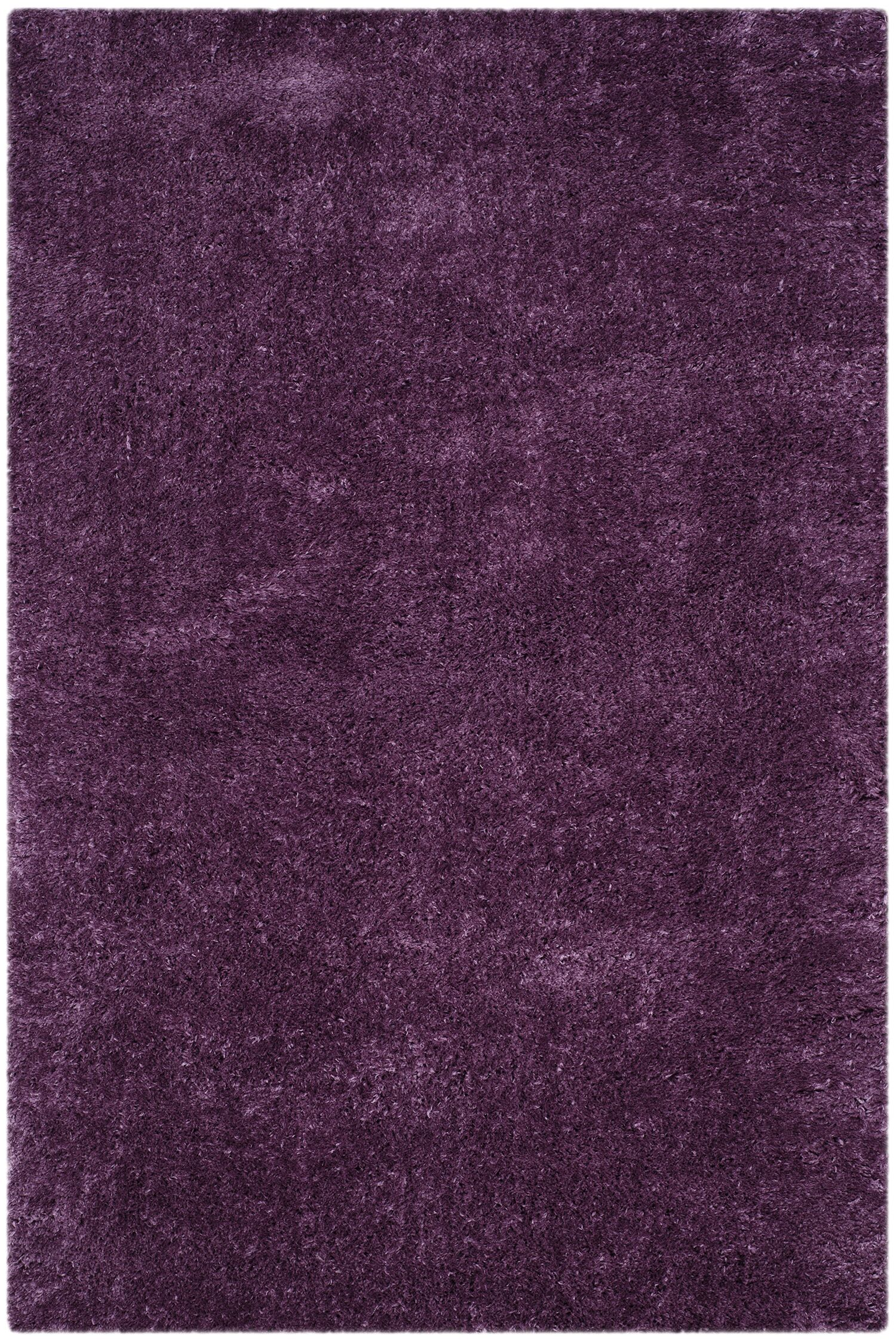 Zirconia Purple Area Rug Rug Size: Rectangle 5'1