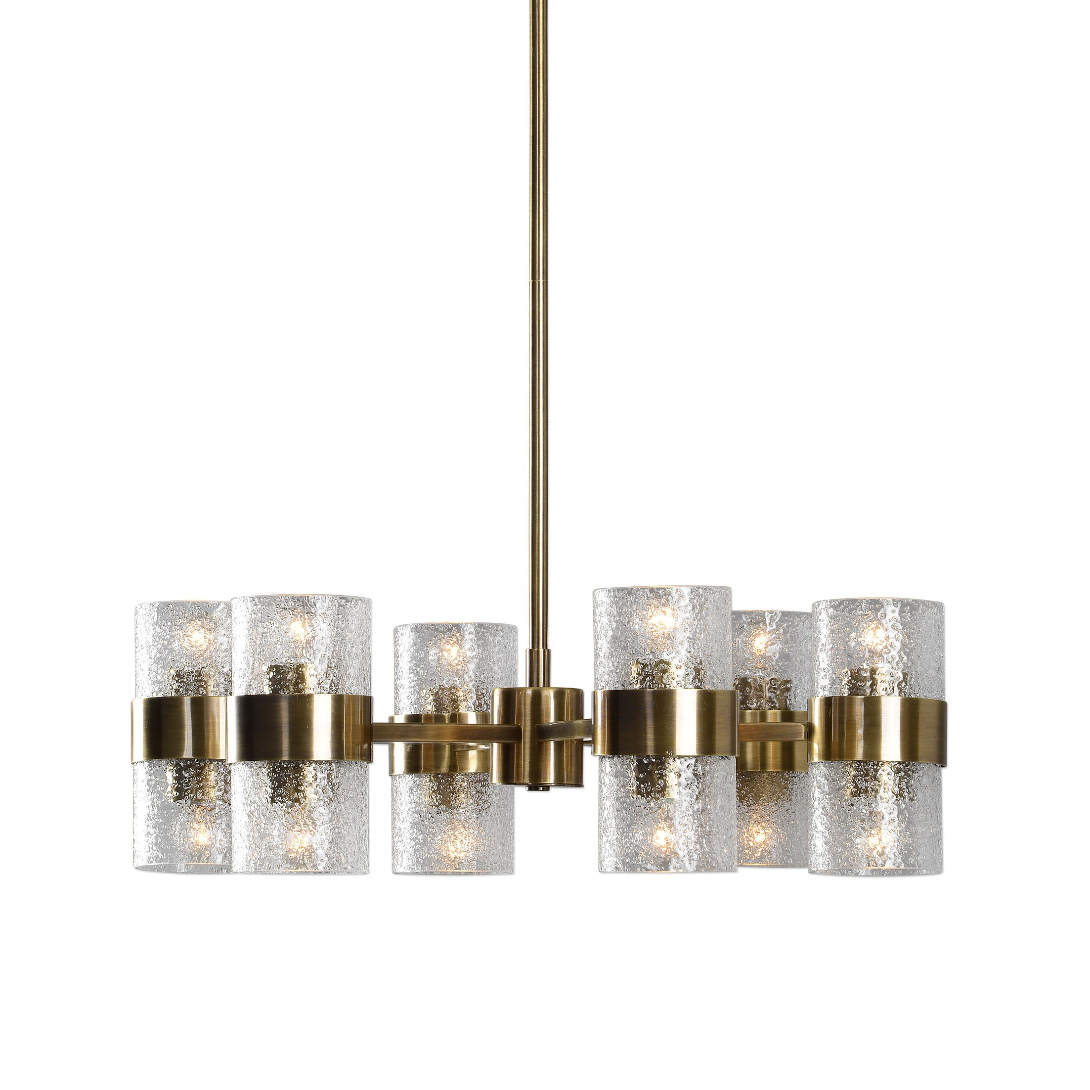 Mariemont 12-Light Shaded Chandelier