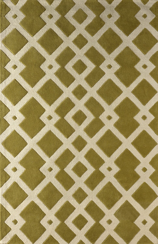 Glenside Hand-Tufted Pear Area Rug Rug Size: Rectangle 6' x 9'