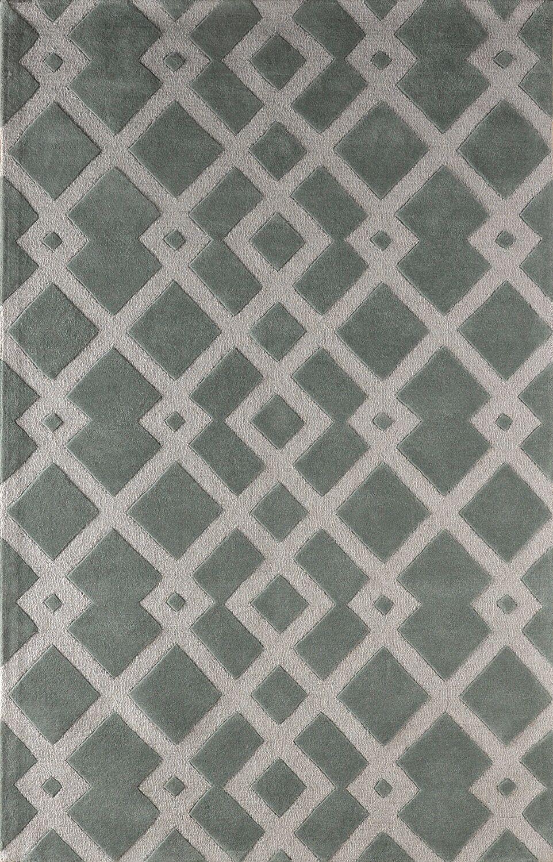 Glenside Hand-Tufted Slate Area Rug Rug Size: Rectangle 6' x 9'