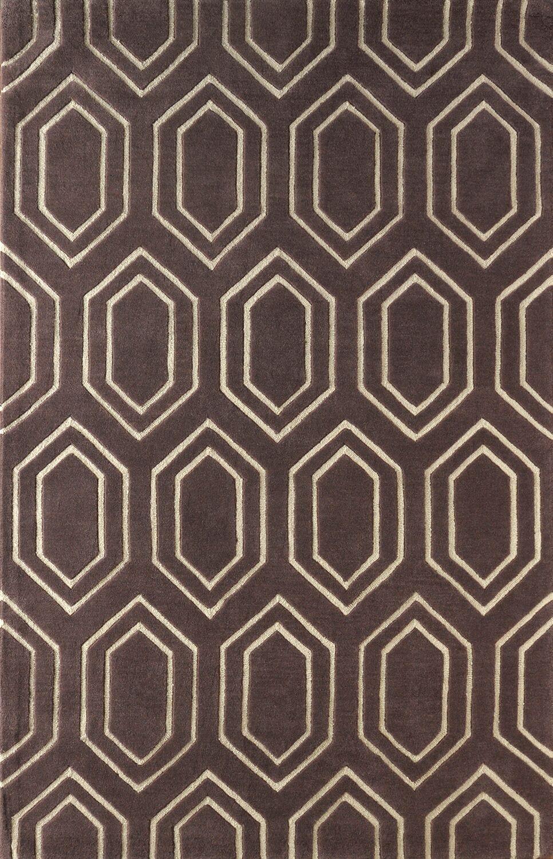 Graceland Hand Tufted Dark Iris Area Rug Rug Size: Rectangle 6' x 9'