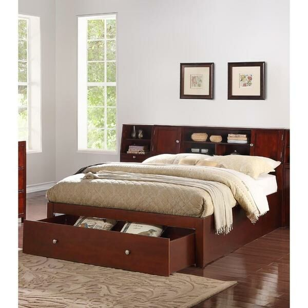 Capacious Storage Panel Bed