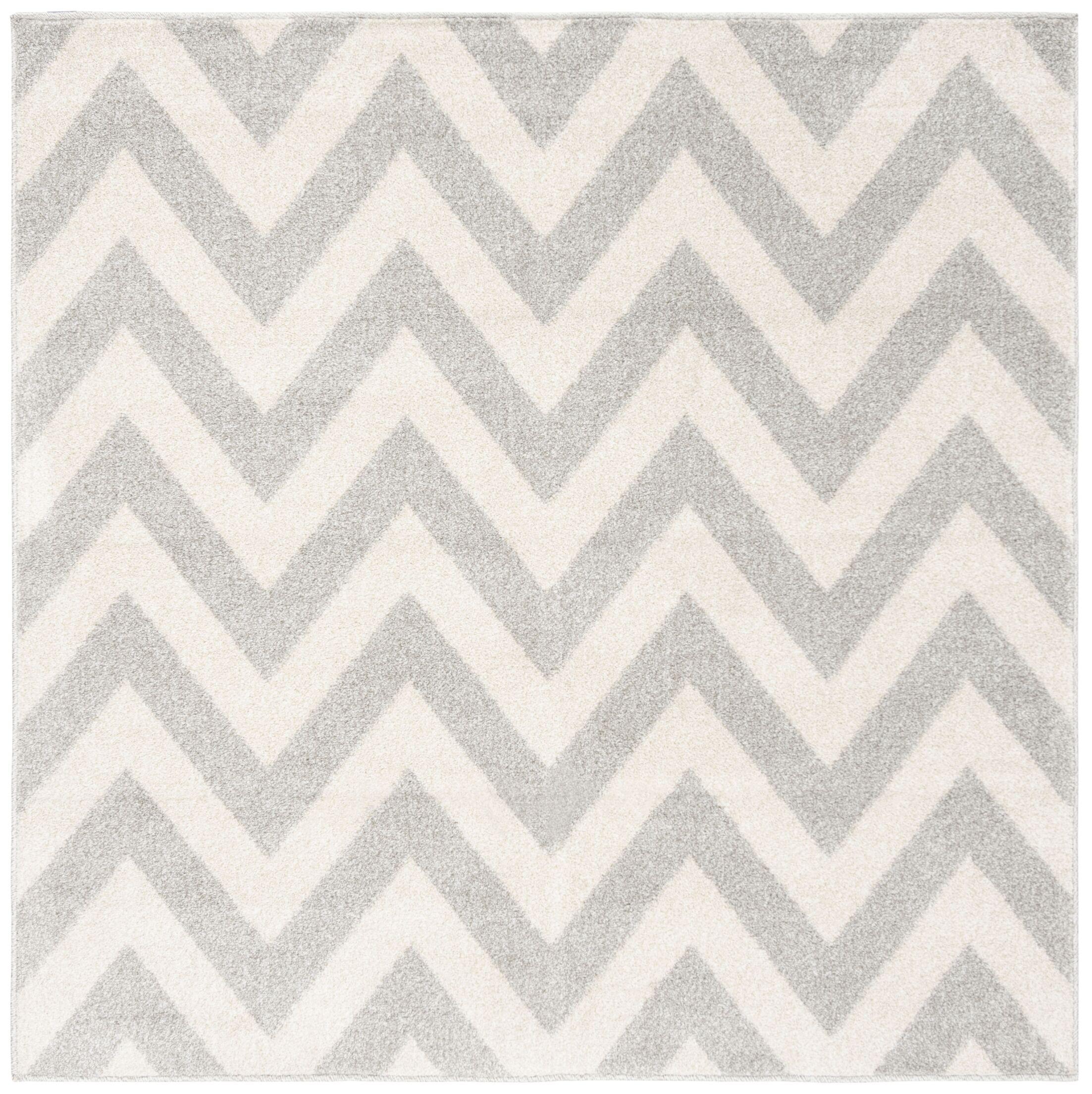 Currey Light Grey/Beige Area Rug Rug Size: Square 5'