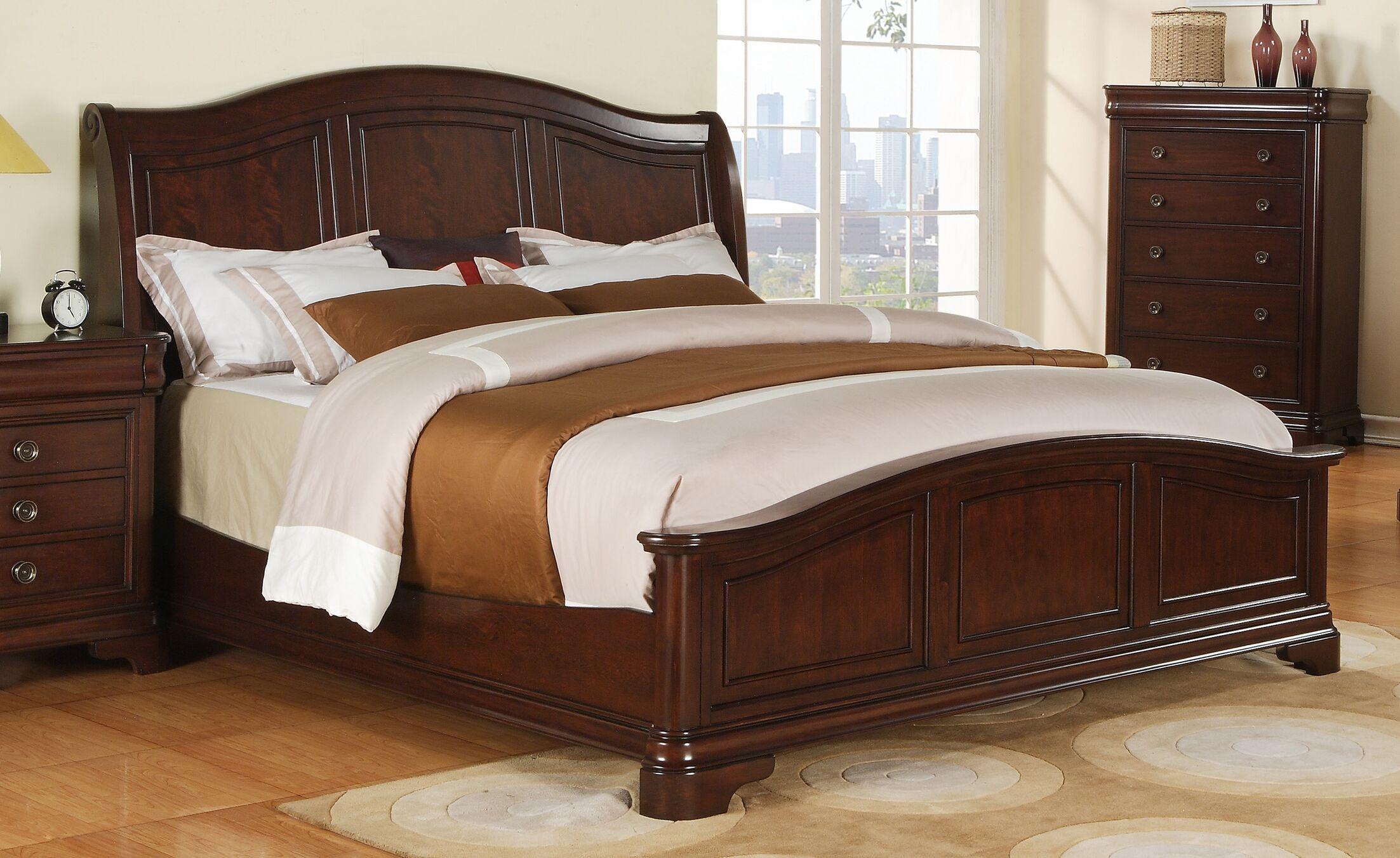 Mcnabb Panel Bed Size: King