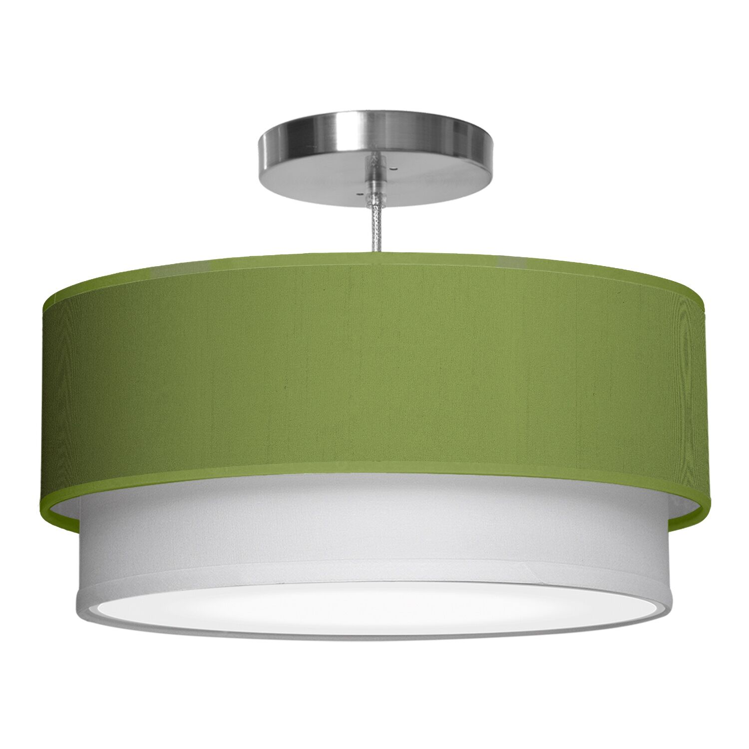 Luther 1-Light Pendant Shade Color: Verde, Size: 10