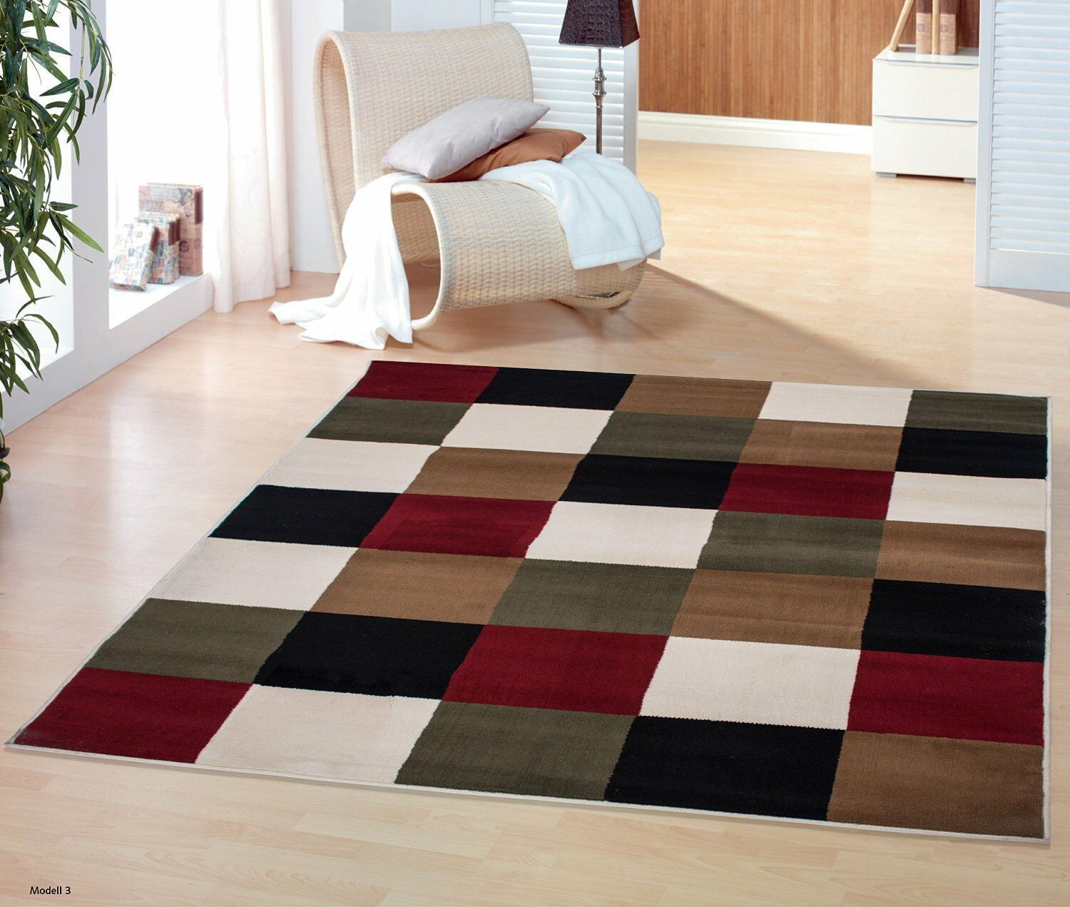 Clifton Multi-Colored Area Rug Rug Size: 7'10