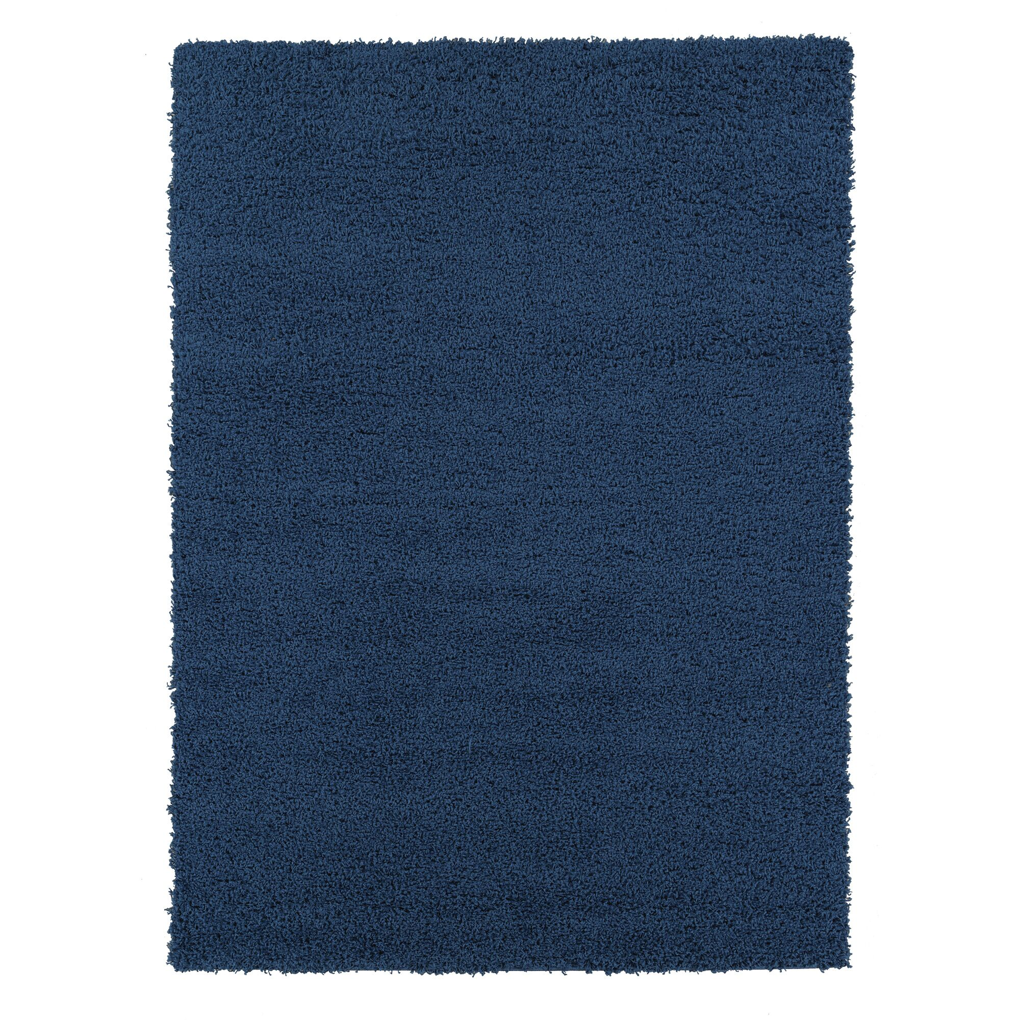 Navy Blue Area Rug Rug Size: Rectangle 7'10